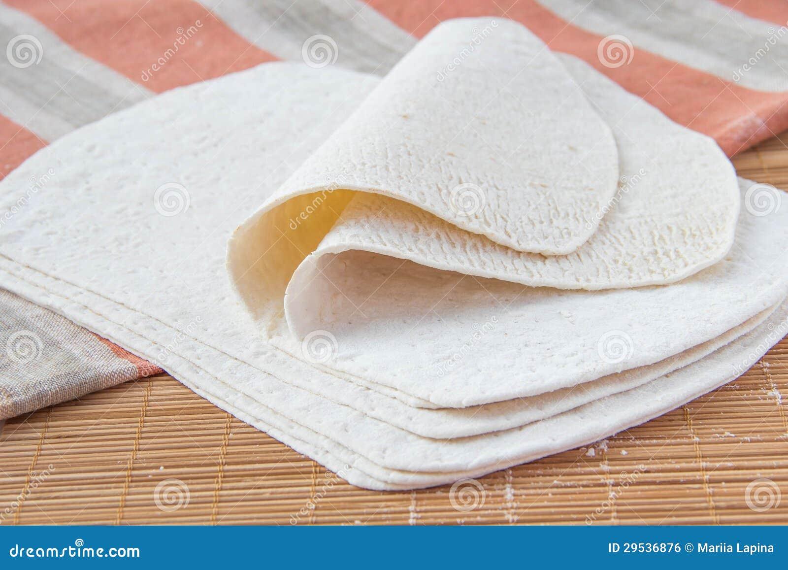 Tortilhas do trigo