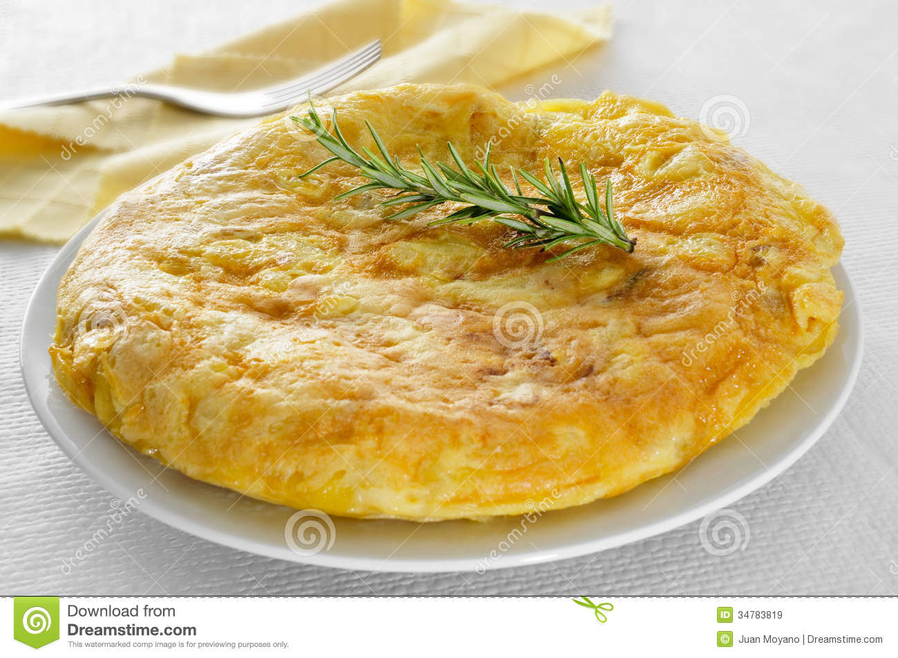 Tortilla De Patatas, Spanish Omelet Royalty Free Stock Images - Image ...