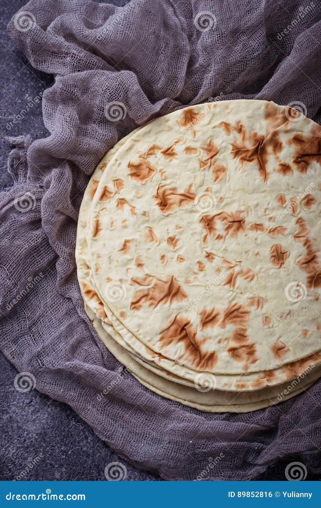 Tortillas de maïs mexicaines