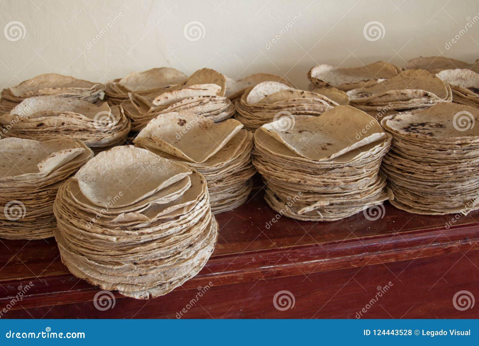 Tortillas de Traditicional para la comida tradicional