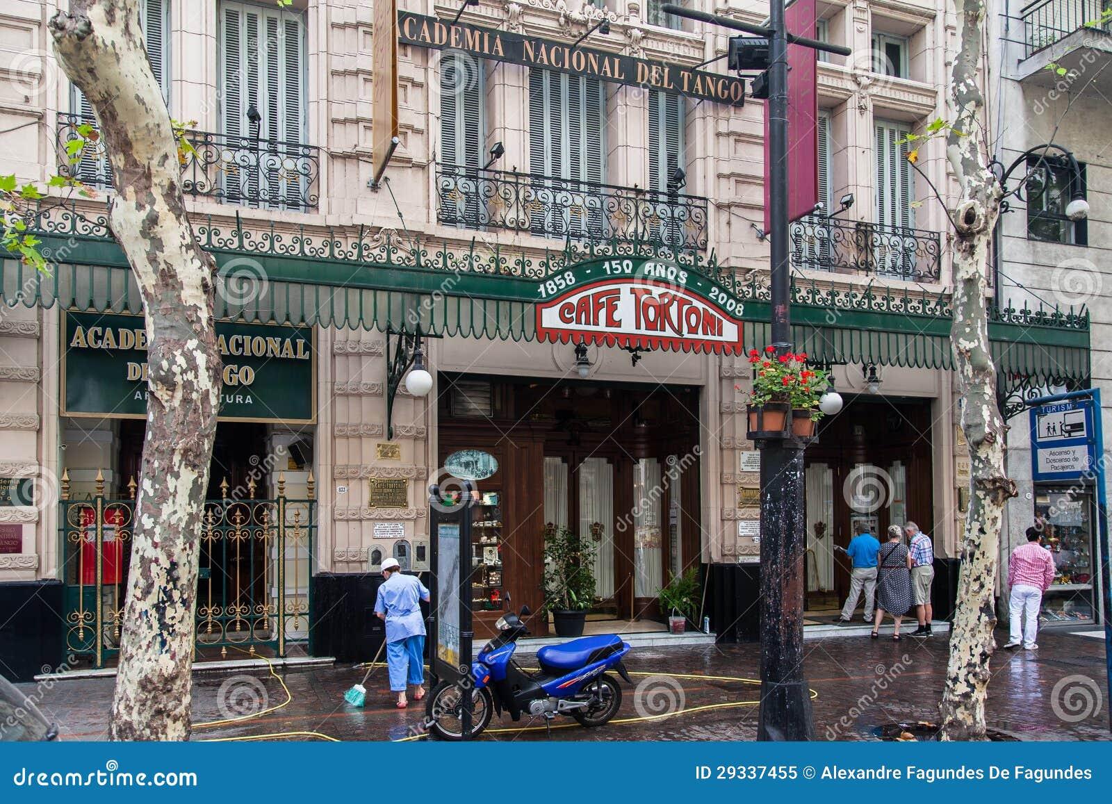 Tortoni Cafe Buenos Aires Argentina