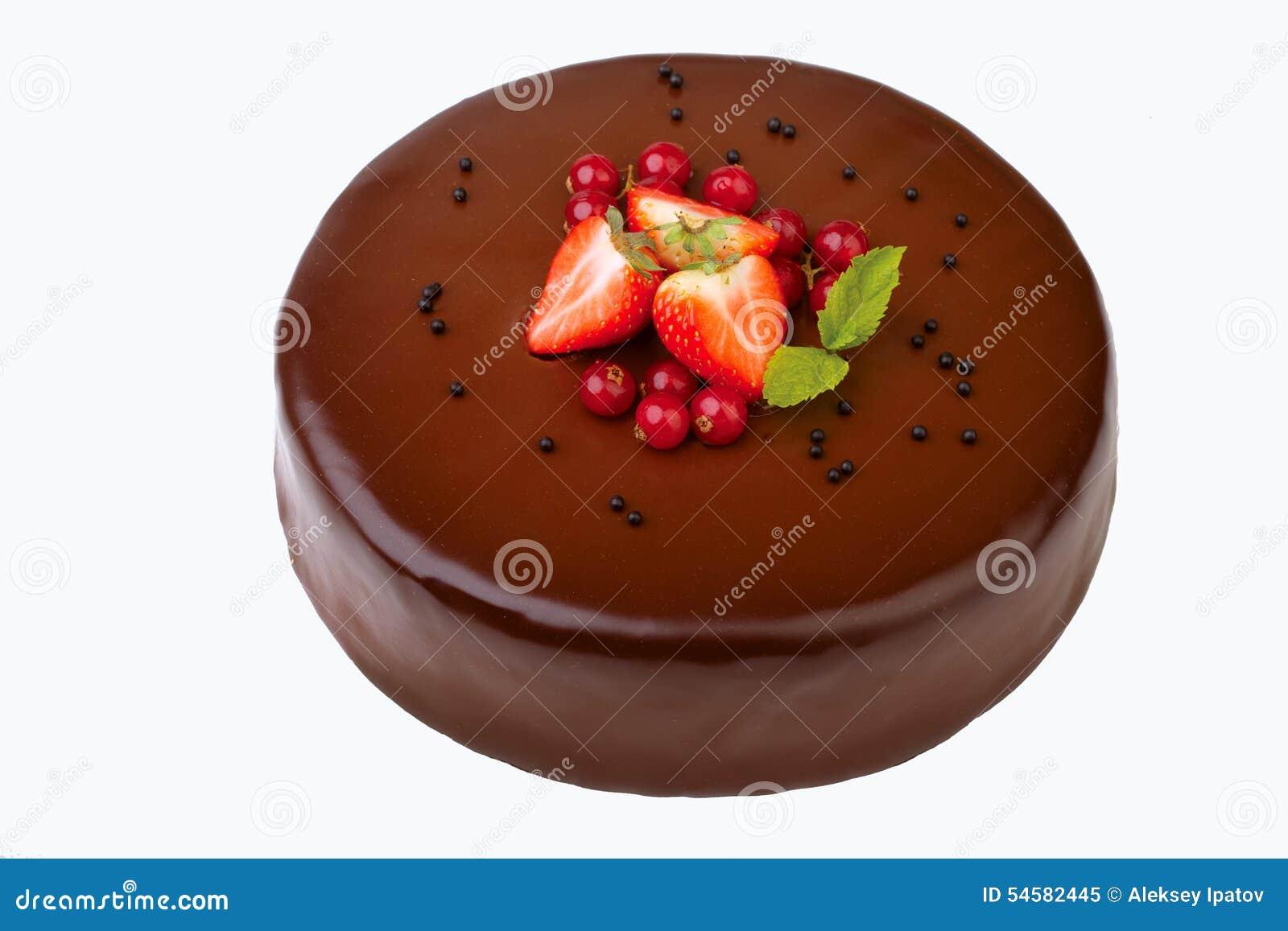 Tortowej pojedynczy białe czekoladki