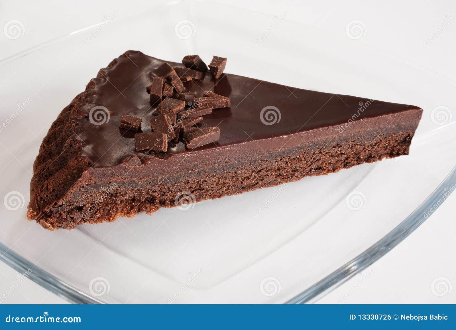 Tortowy czekoladowy plasterek