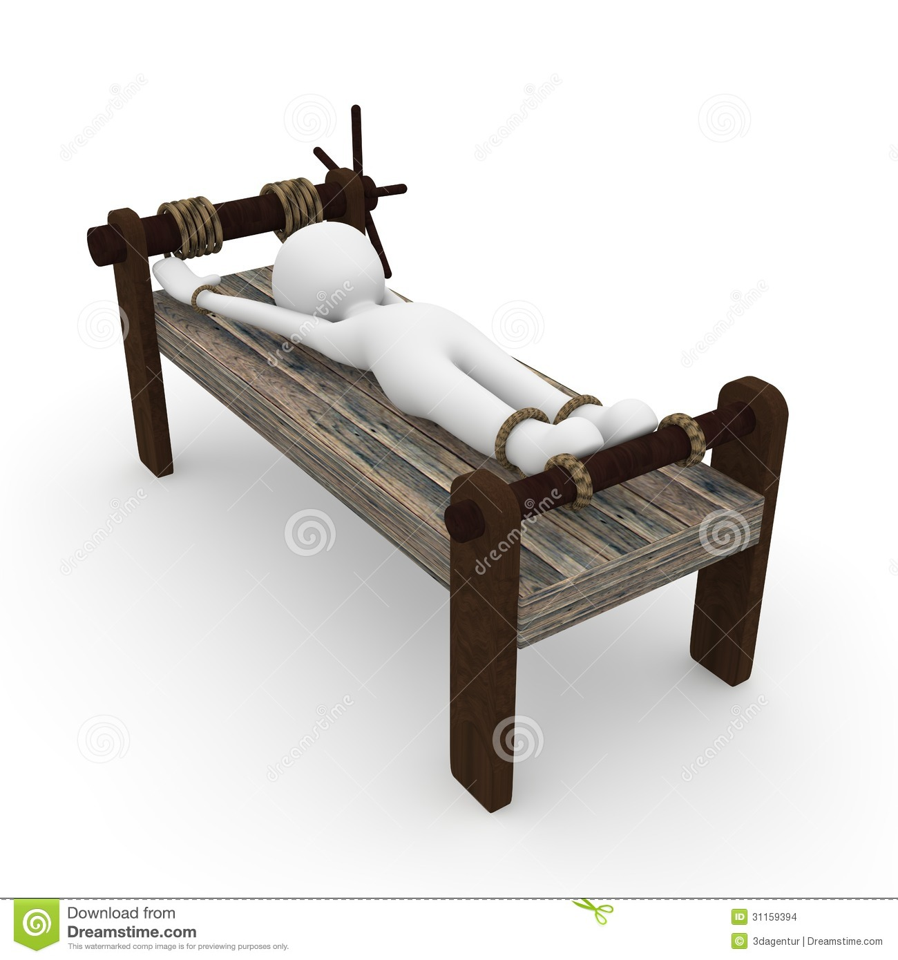 Torture Bench Stock Images Image 31159394