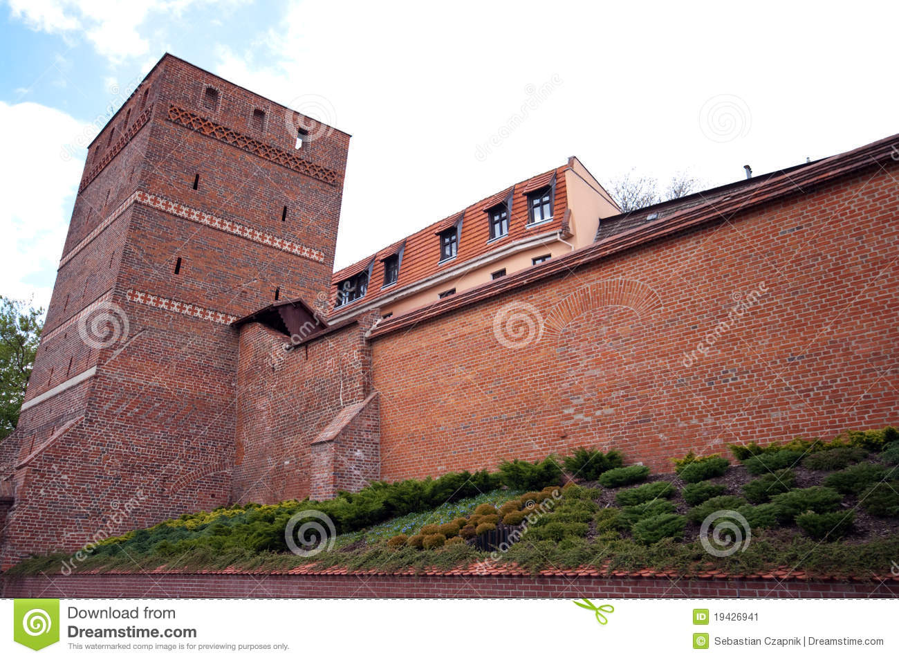 Torun, Poland - the Leaning Tower