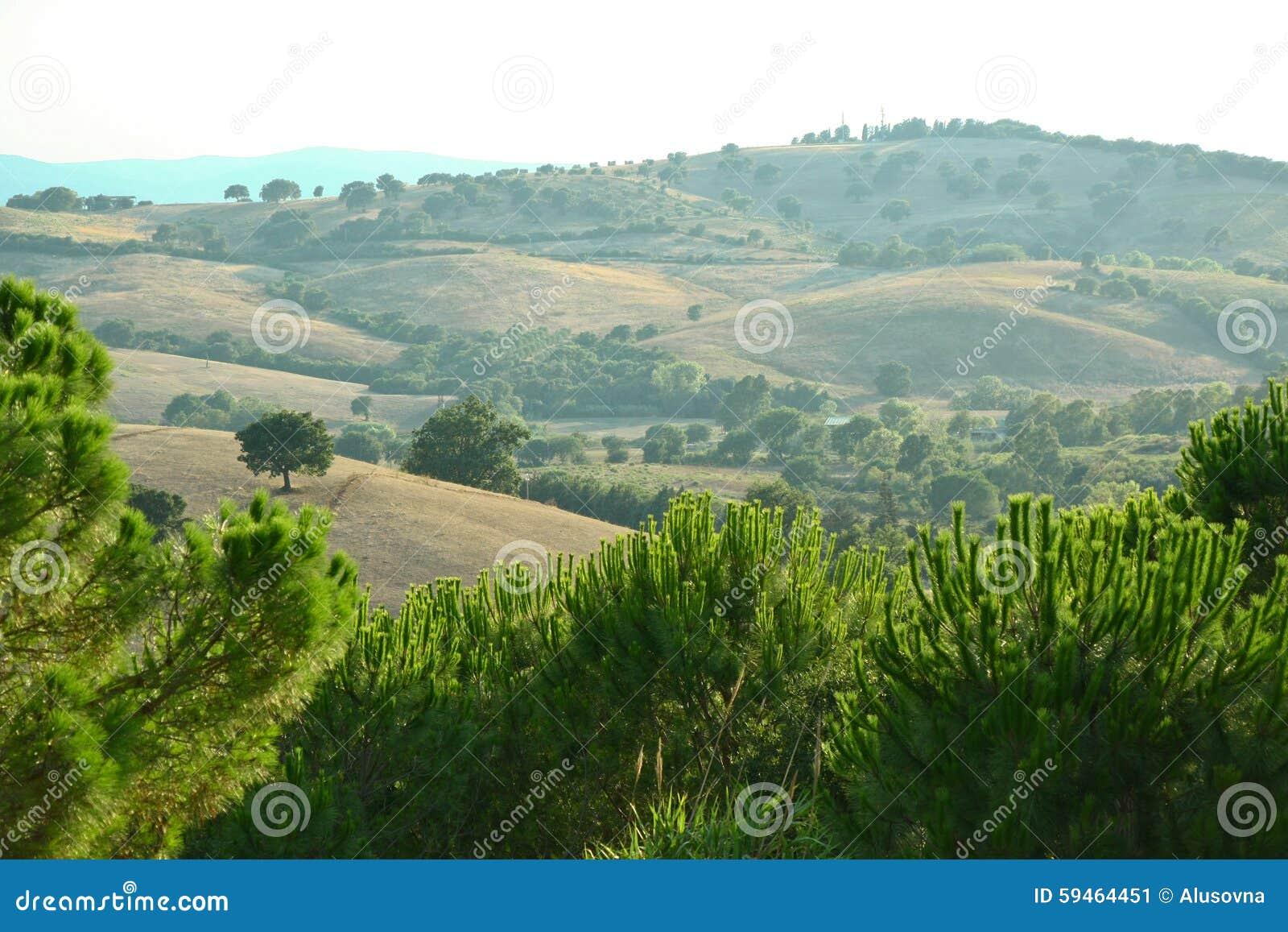 Toscany landskap