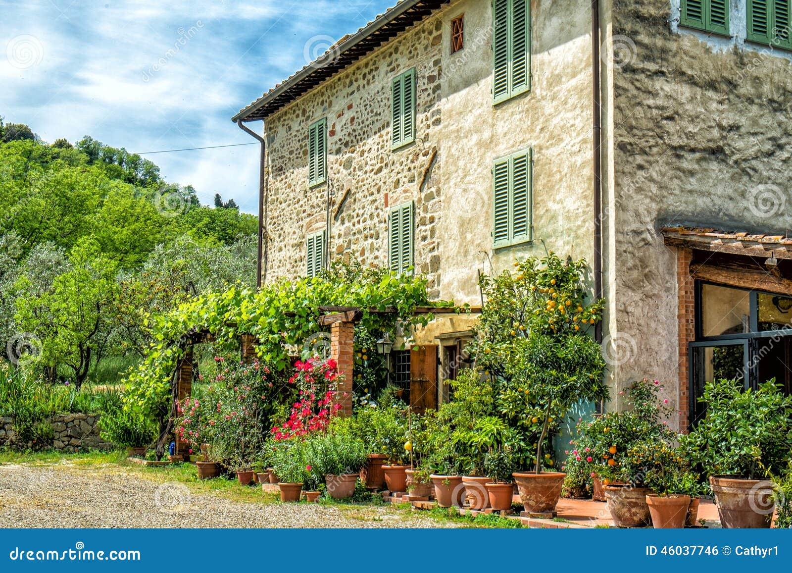 Toskana-Bauernhaus