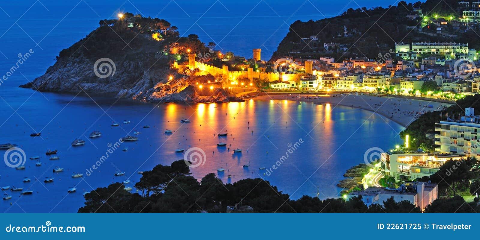Tossa de Mar,Costa Brava,Spain