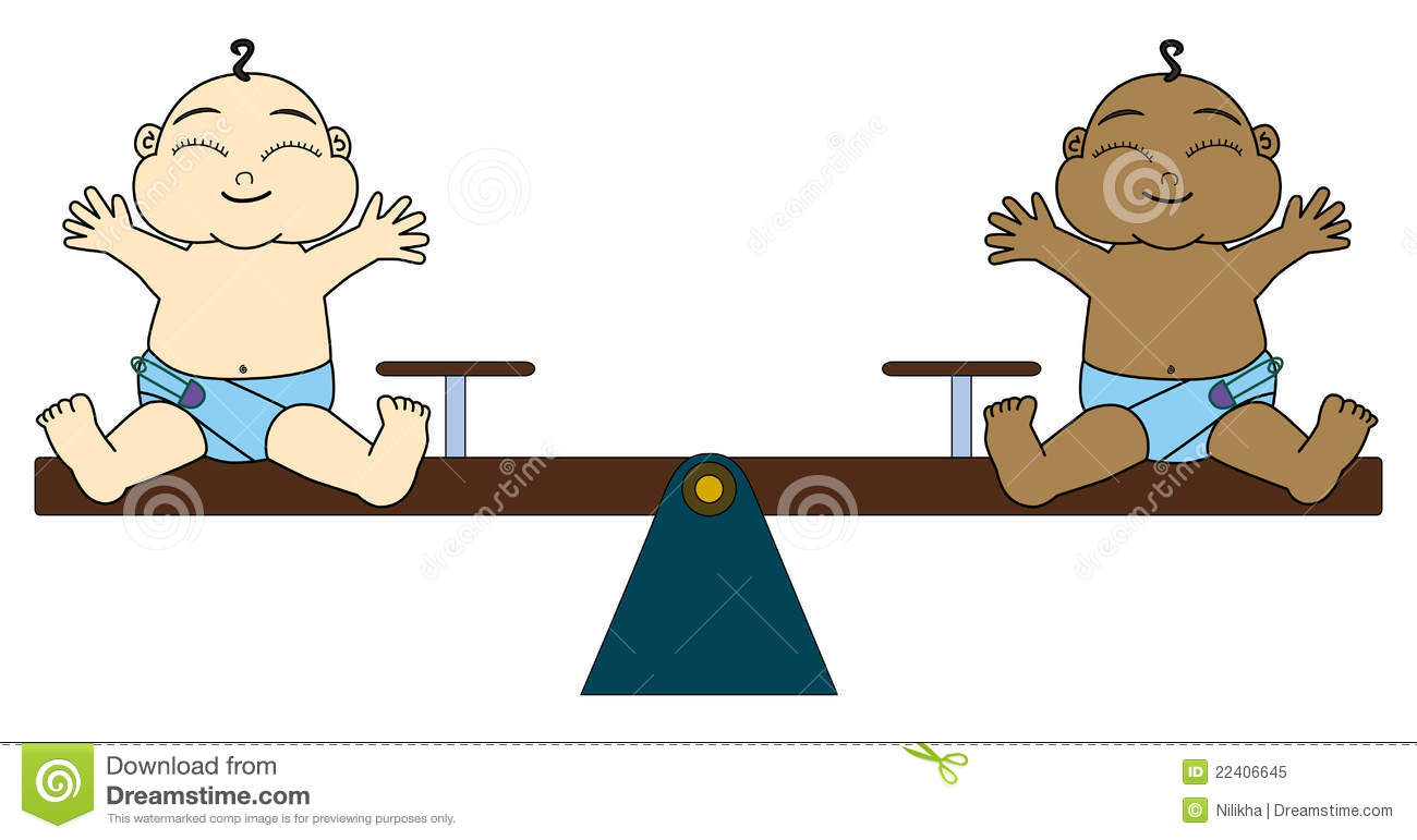Total equality stock illustration. Image of illustration ...
