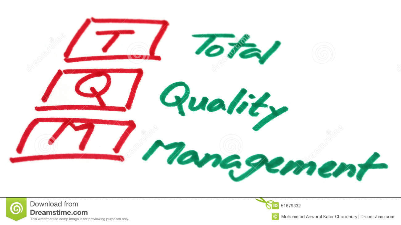 total quality management tqm survey paper Total quality management is related to the enhancement of any old or new business it is however a modern technique which is.
