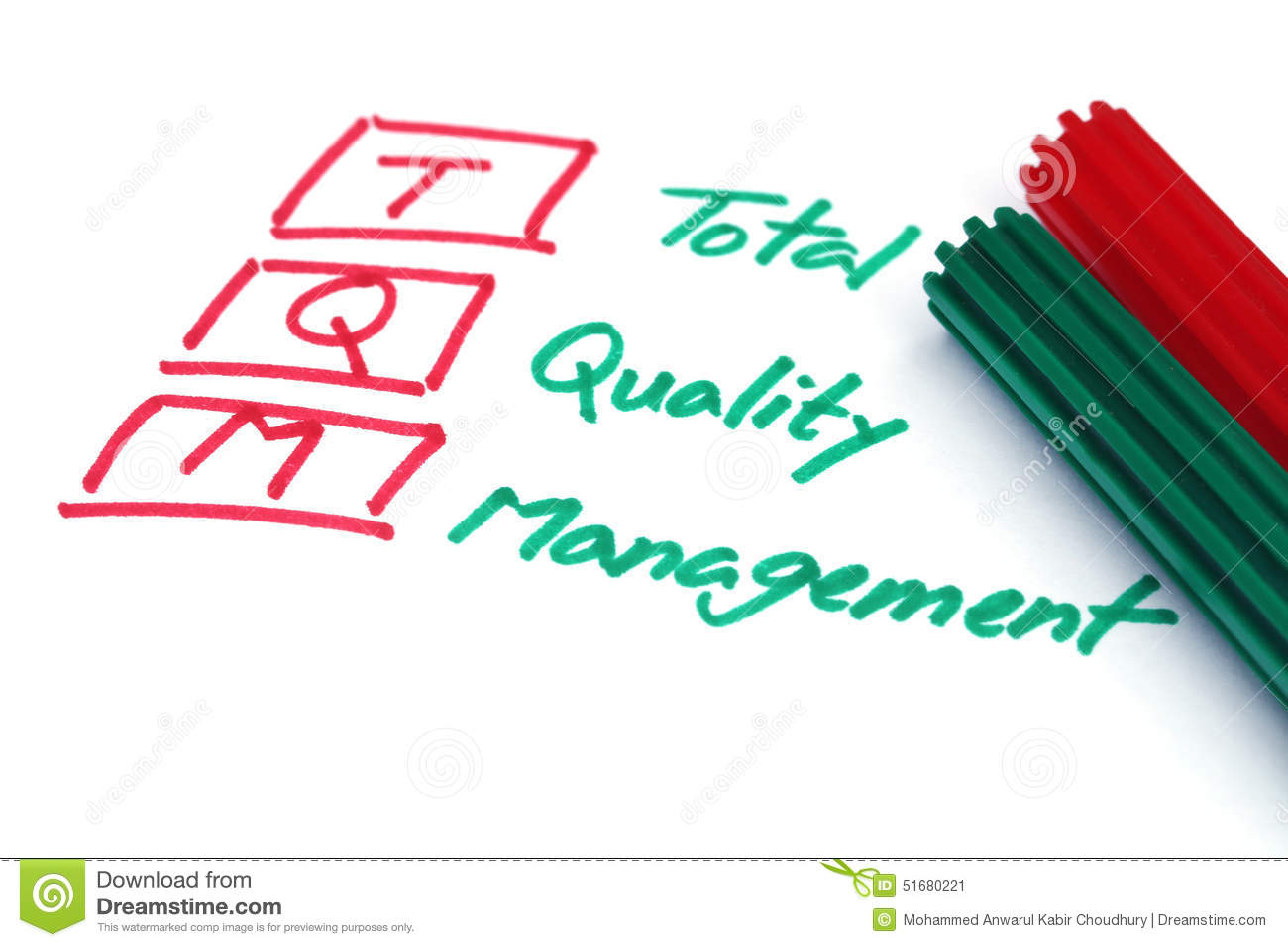 term paper on quality management