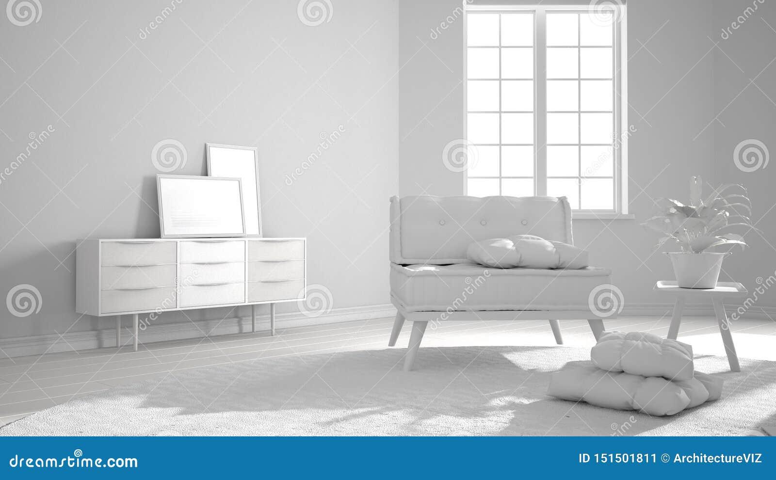 Marvelous Total White Project Draft Scandinavian Minimalist Living Ncnpc Chair Design For Home Ncnpcorg