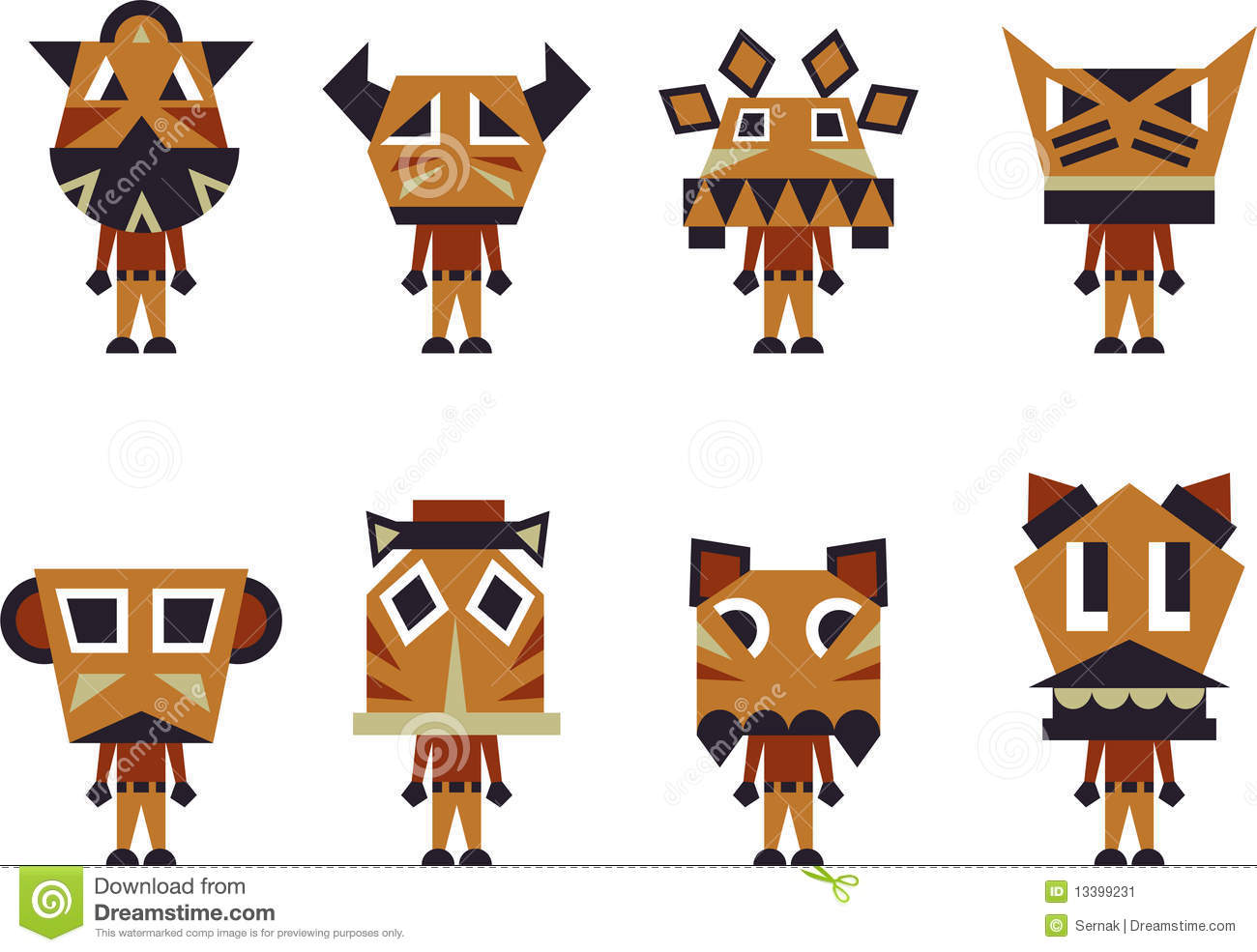 totem pole characters