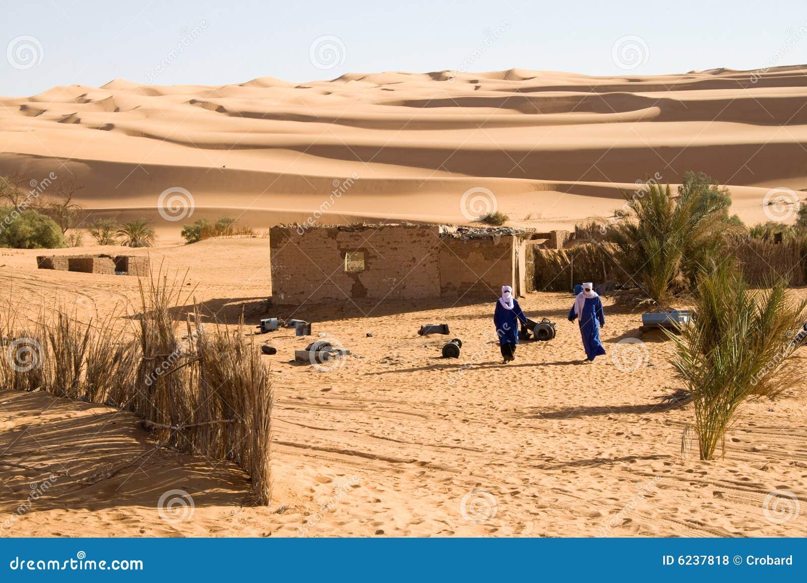 Touareg w Sahara