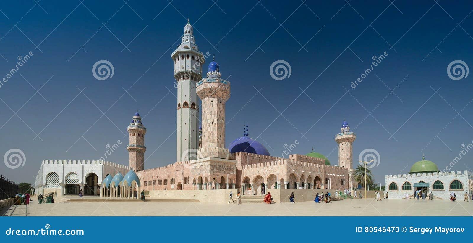 Touba-Moschee, Mitte von Mouridism, Senegal