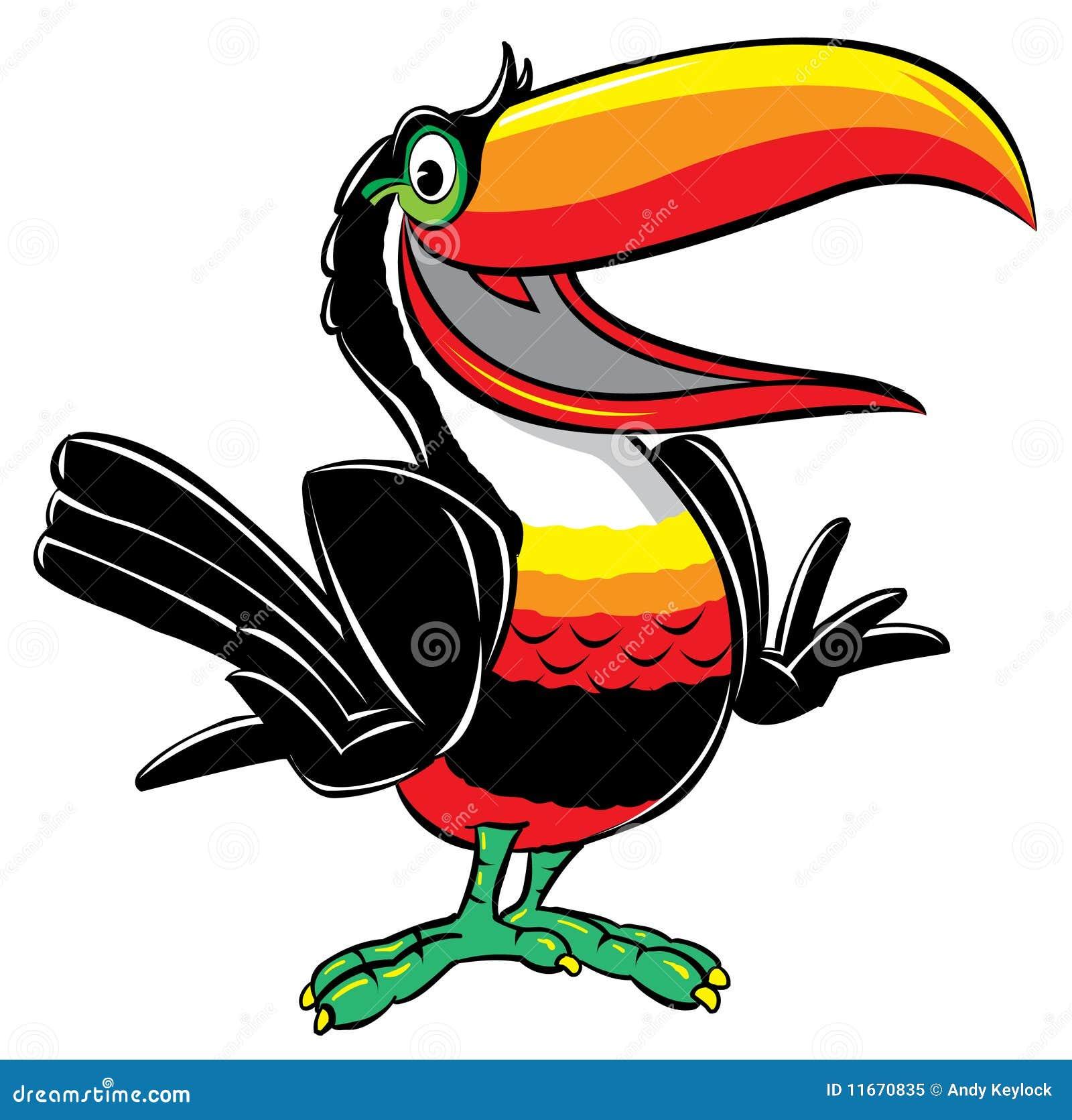 Toucan Cartoon Illustration Royalty Free Stock Photo - Image: 11670835