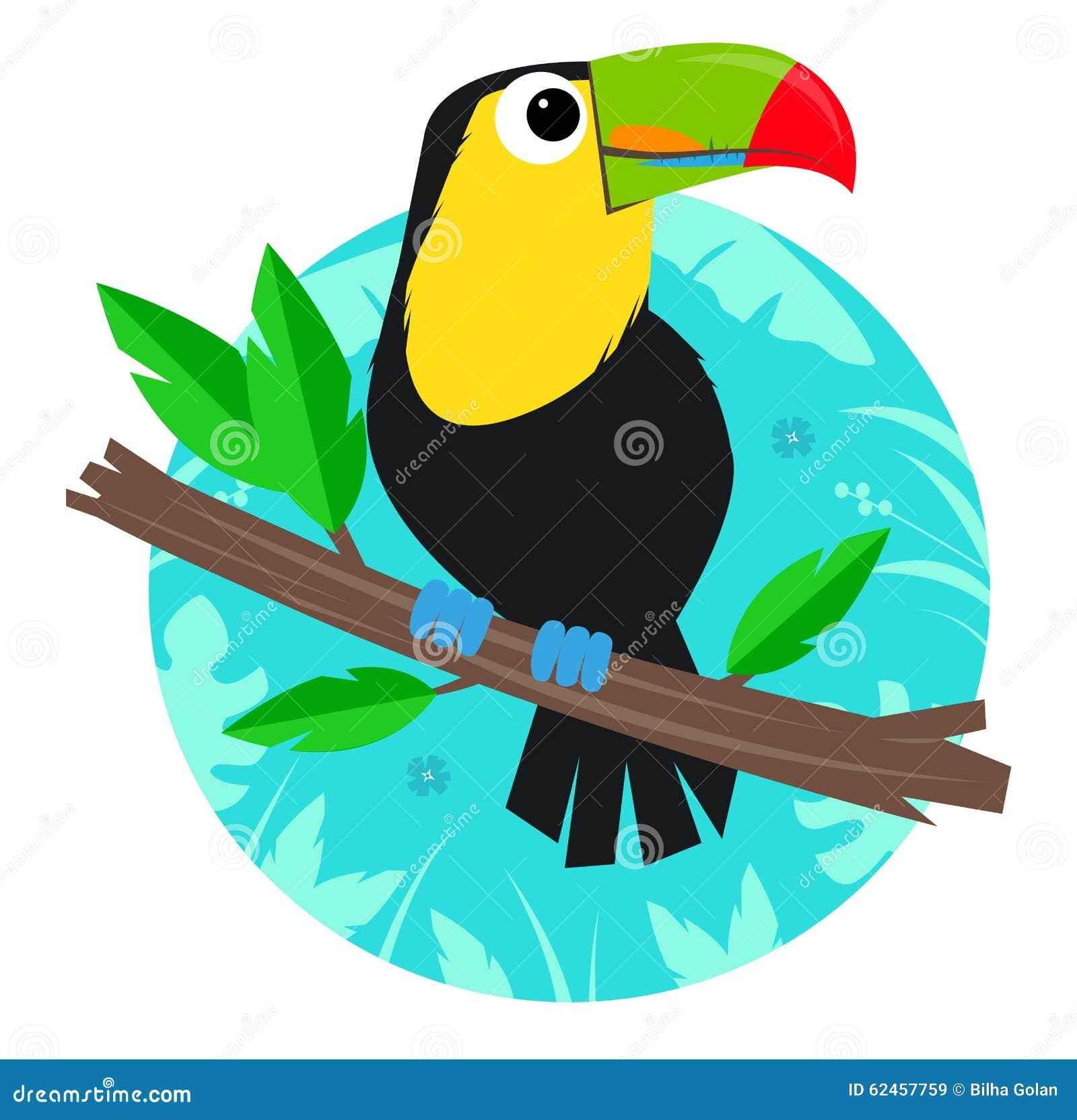 toucan clip art stock vector image 62457759 toucan clip art for kids toucan clipart free