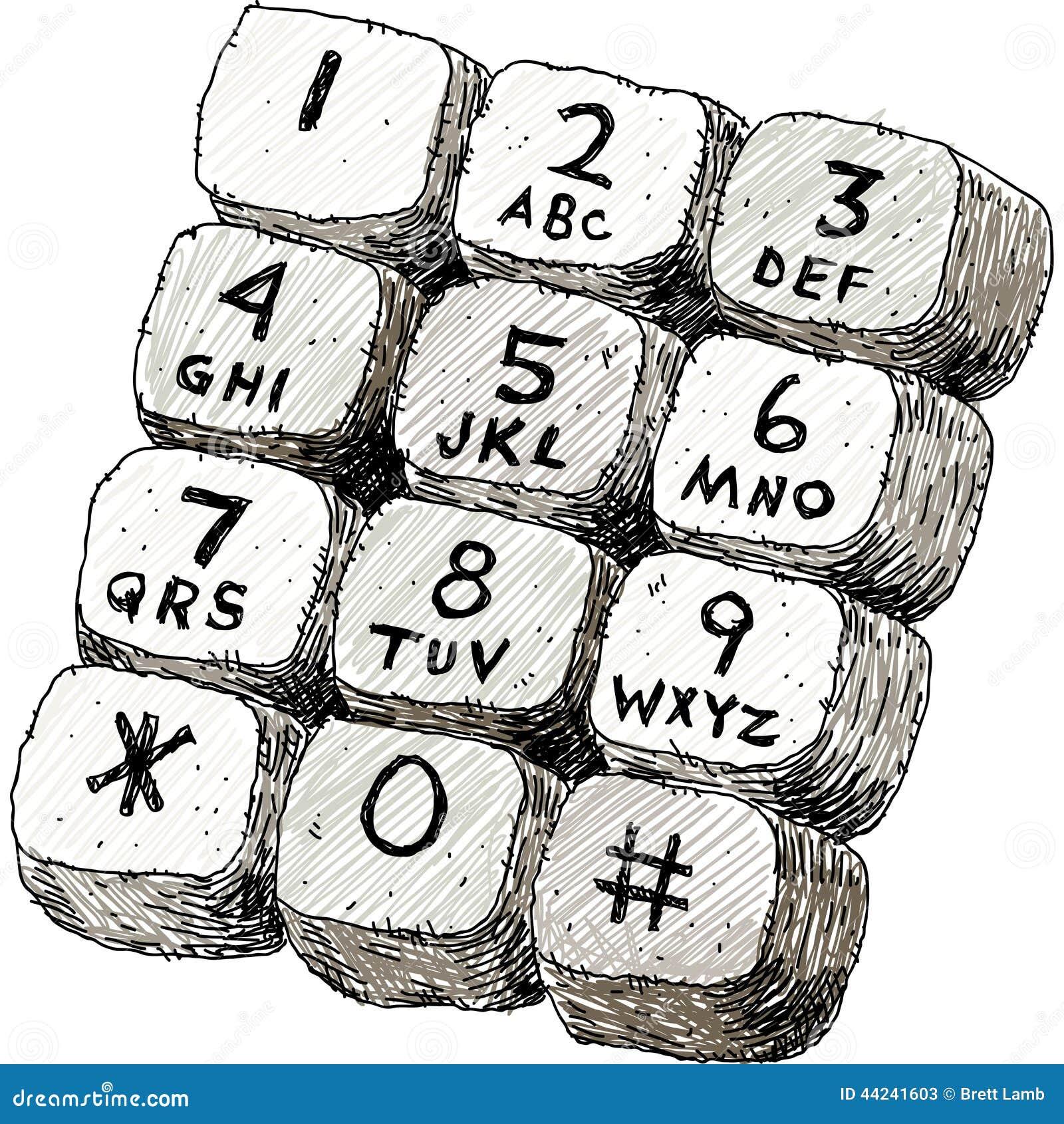 touch tone keypad