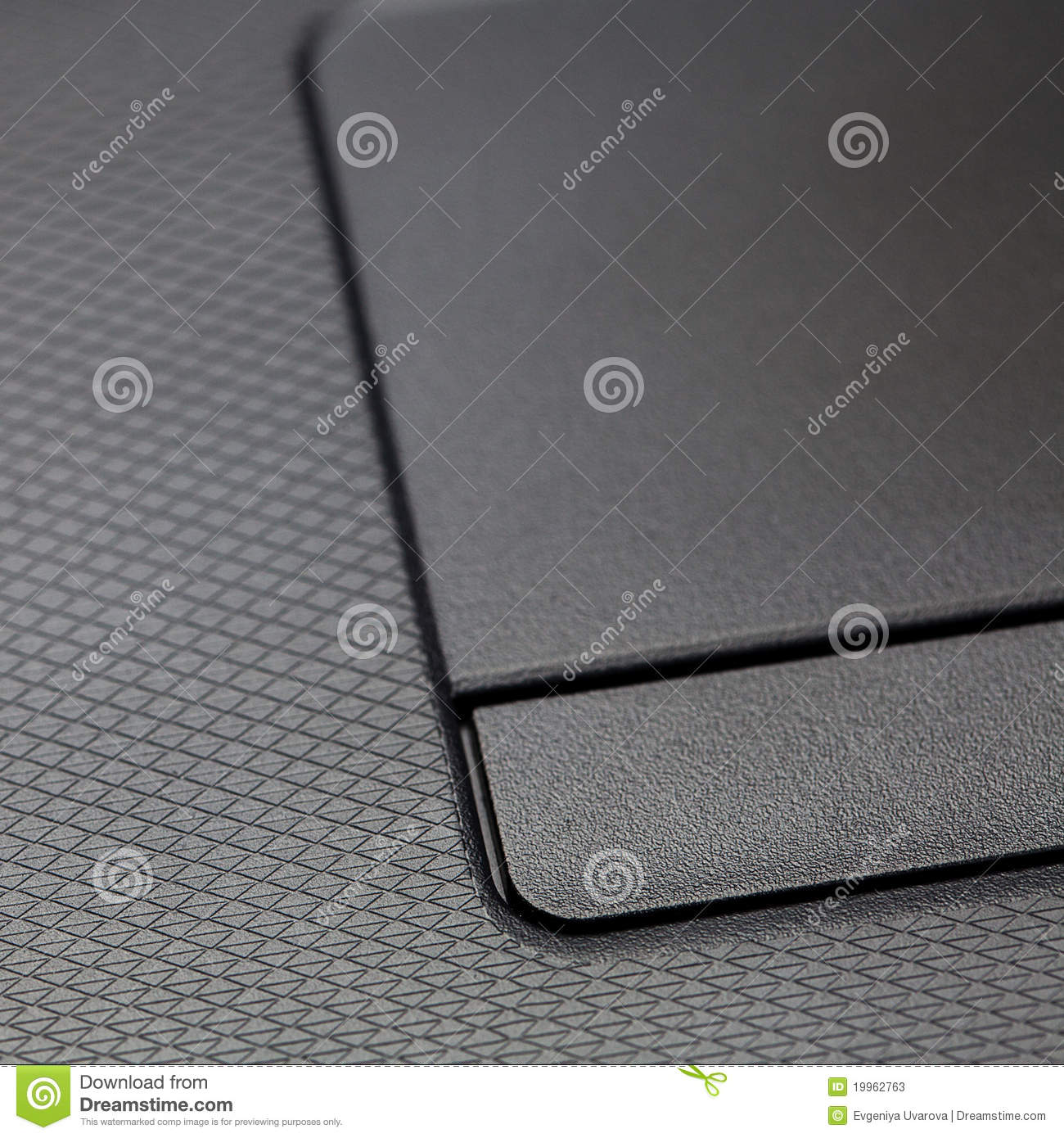 Touchpad and keyboard laptop