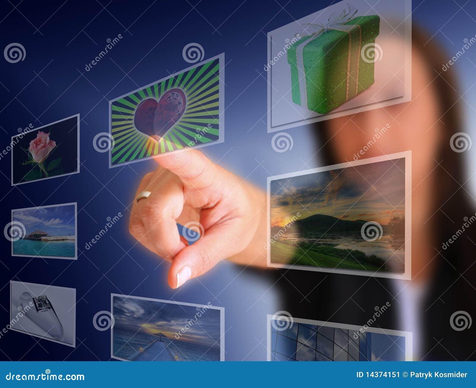 Touchscreen keus