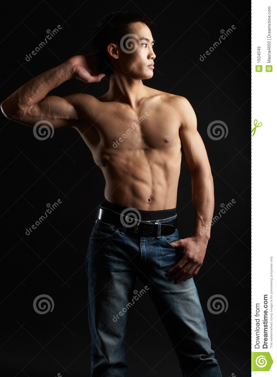 15 Year Boys Bedroom: Tough Asian Guy Stock Image. Image Of Background, Look