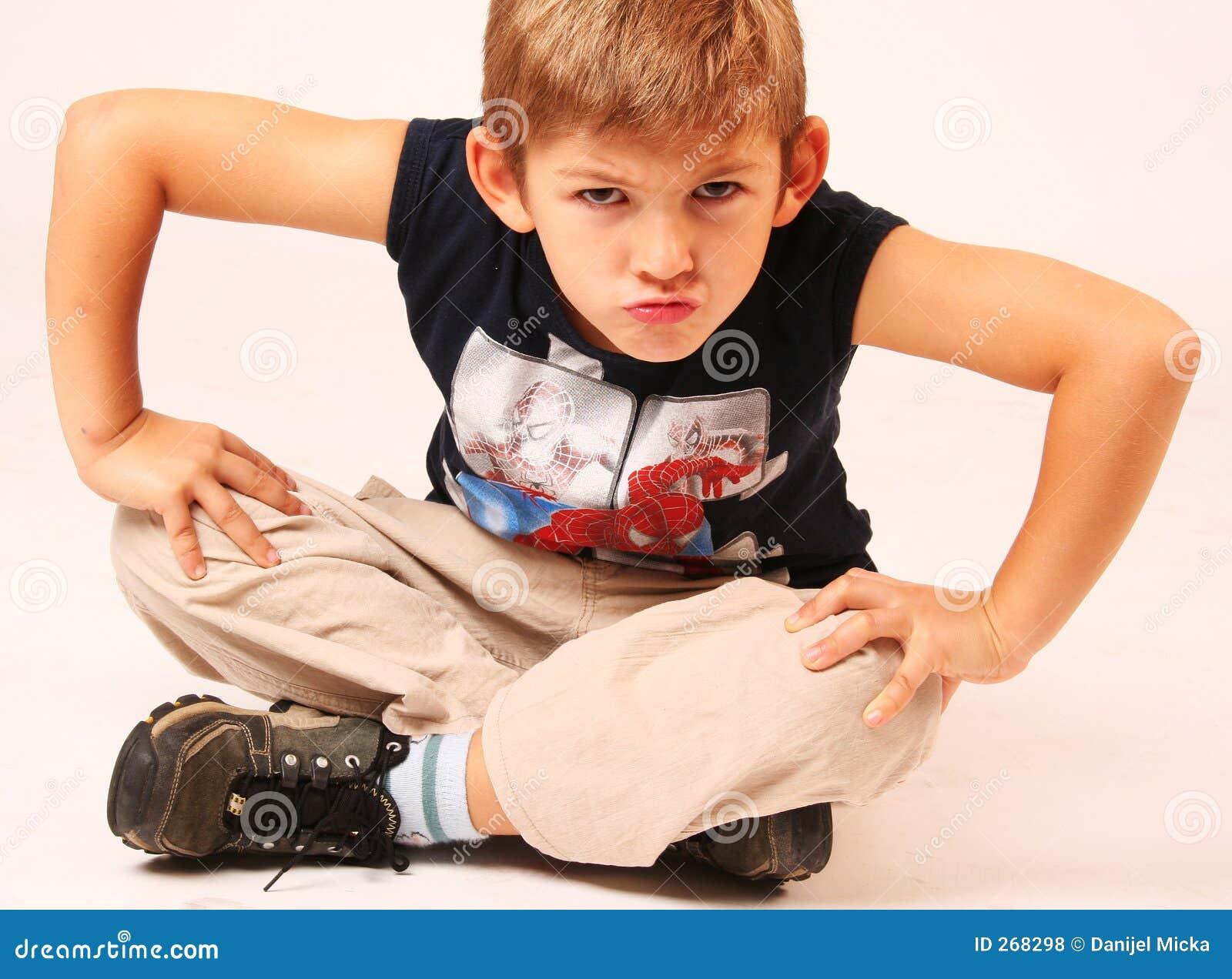 Child Look Sad stock image. Image of little, children