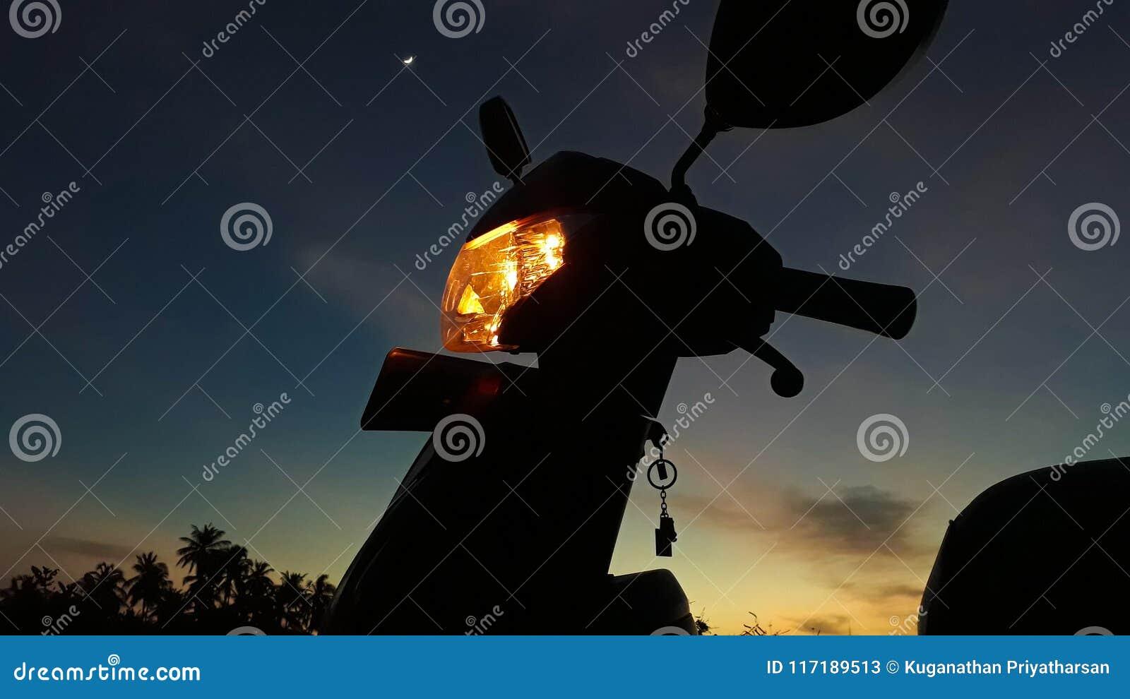 Tour au crépuscule