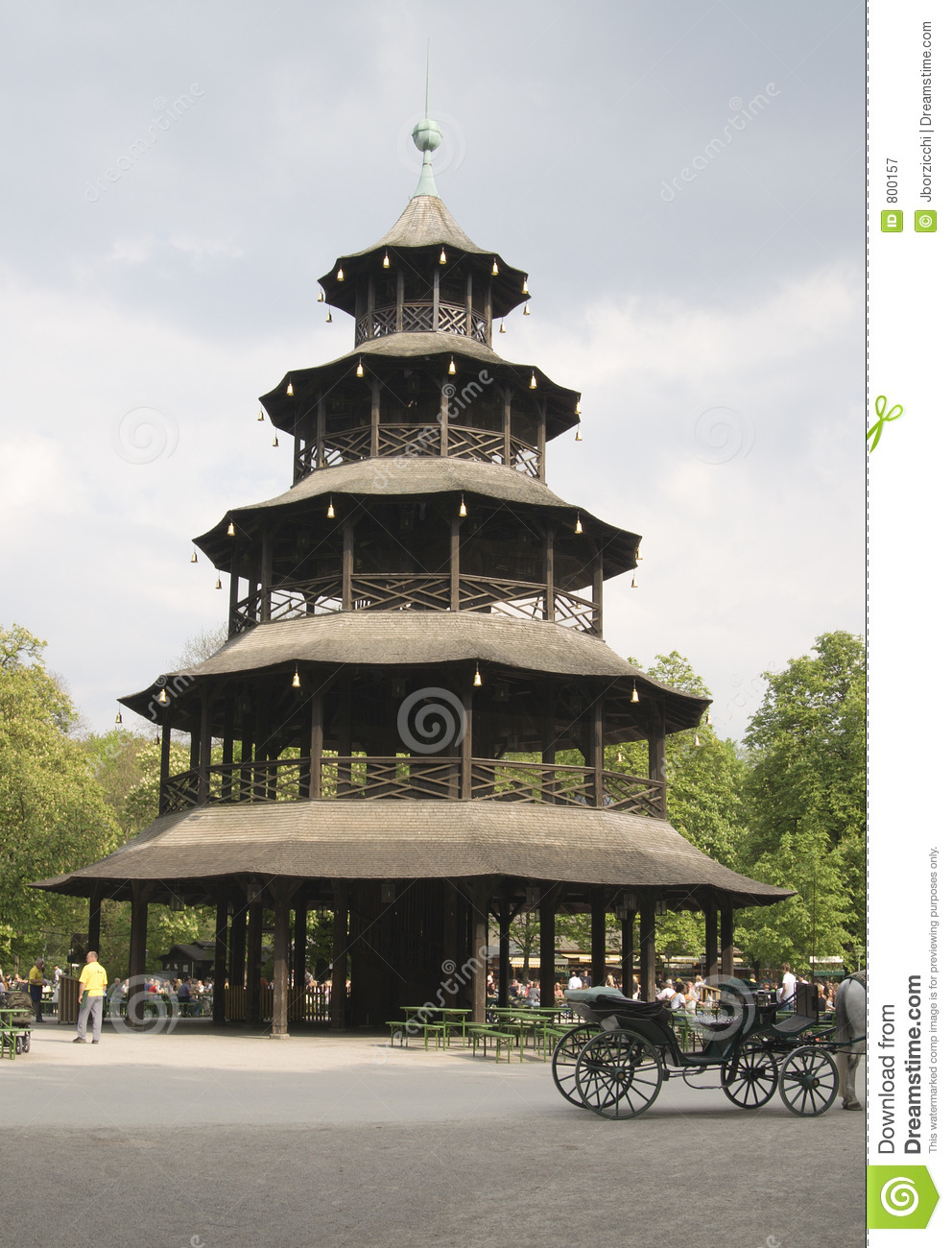 Tour chinoise jardin anglais munich photographie stock for Jardin anglais allemagne
