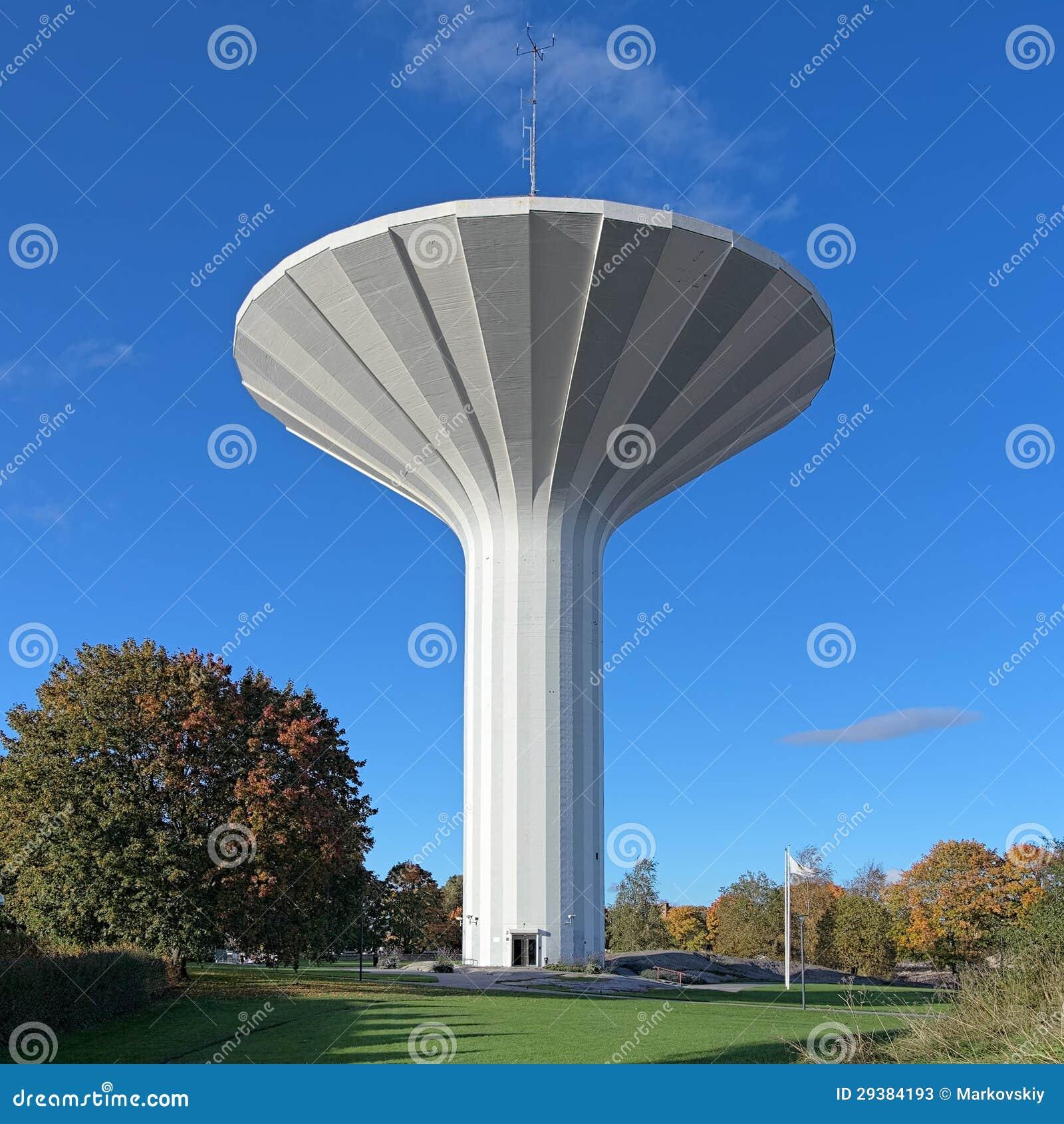 Tour d eau Svampen dans Orebro, Suède