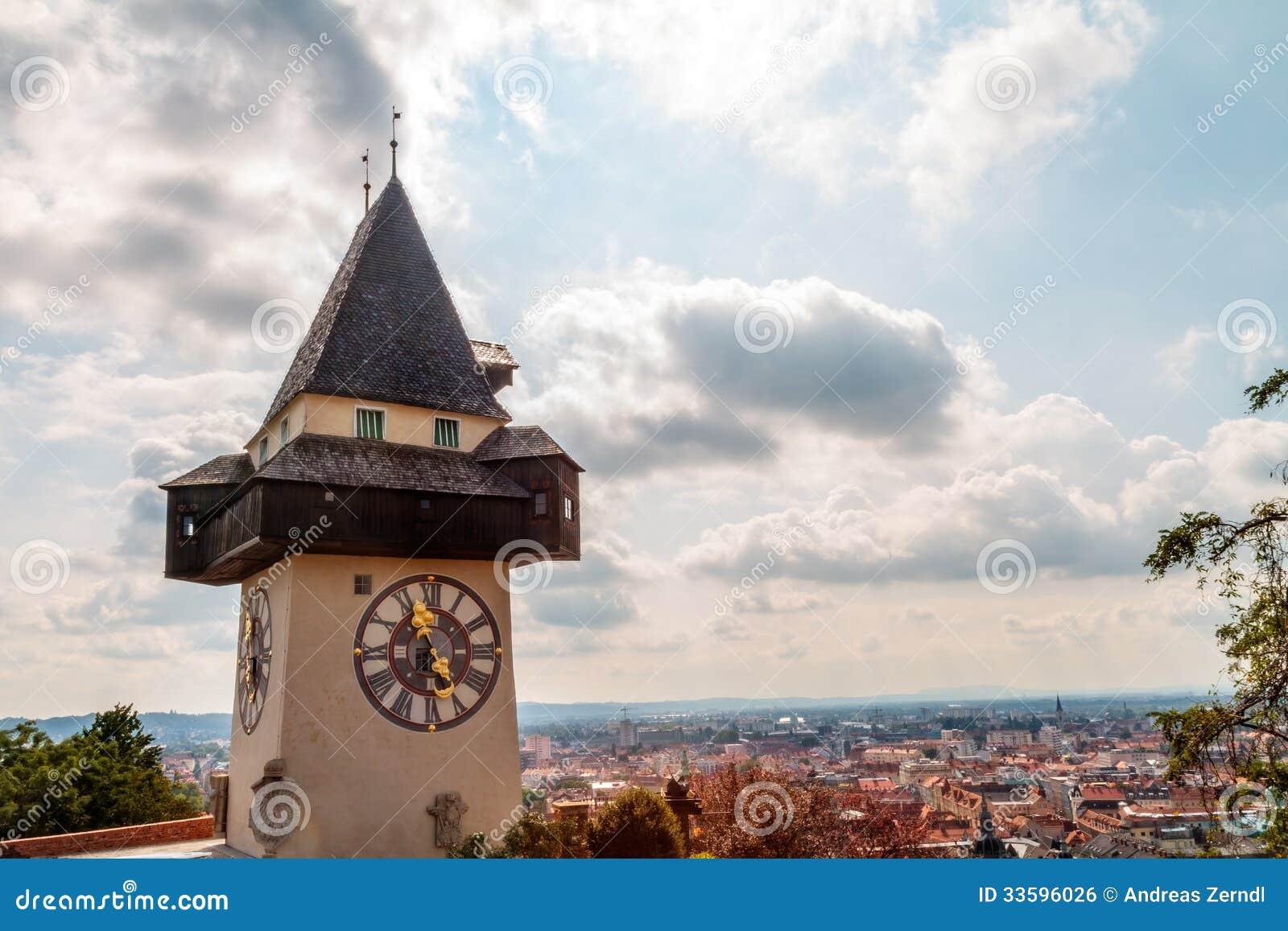 Tour d horloge de Graz