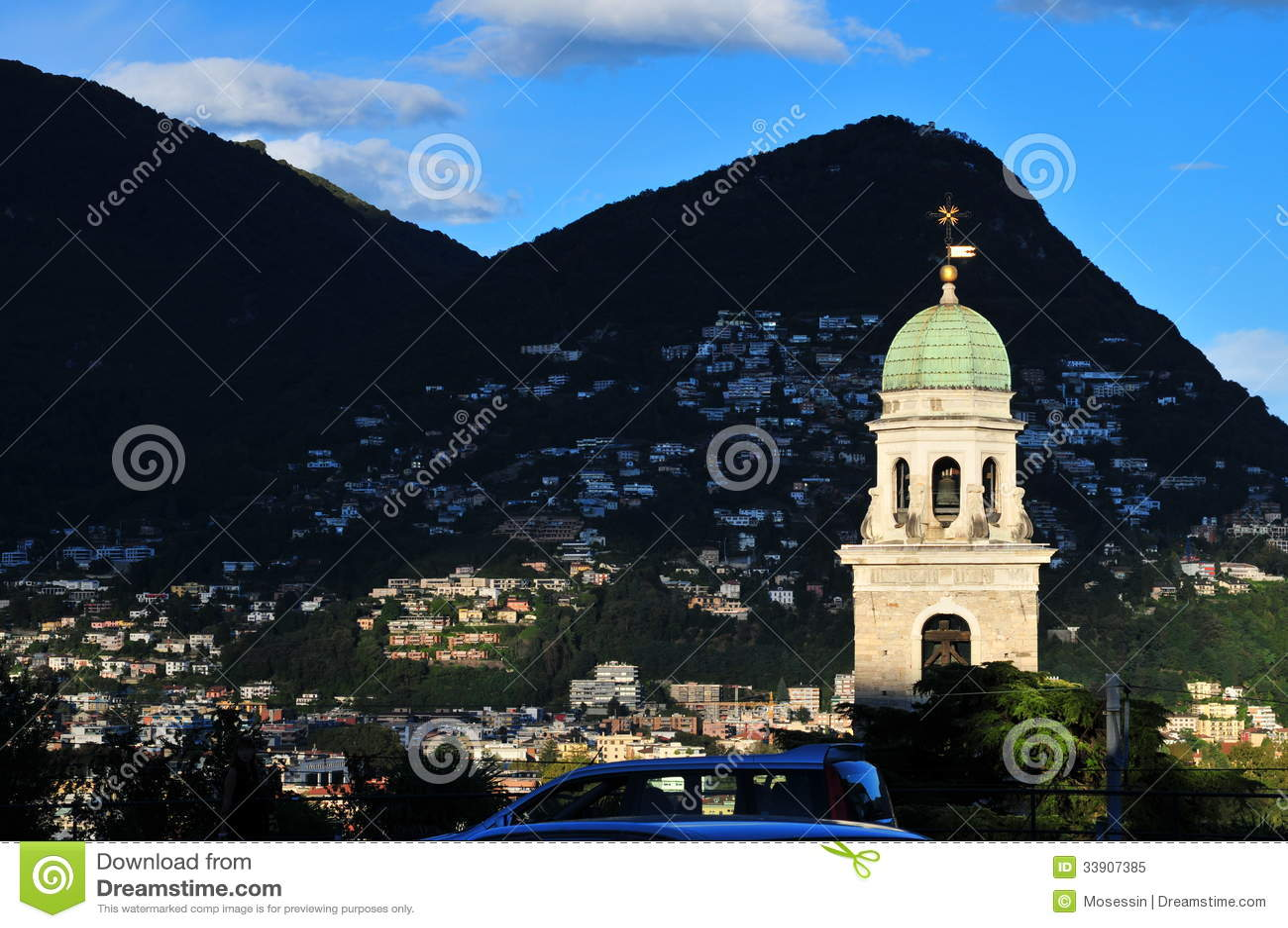 Tour d horloge de Lugano