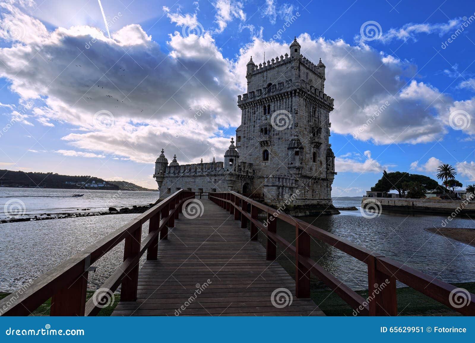 Tour de Belem à Lisbonne sur la rivière le Tage, Portugal
