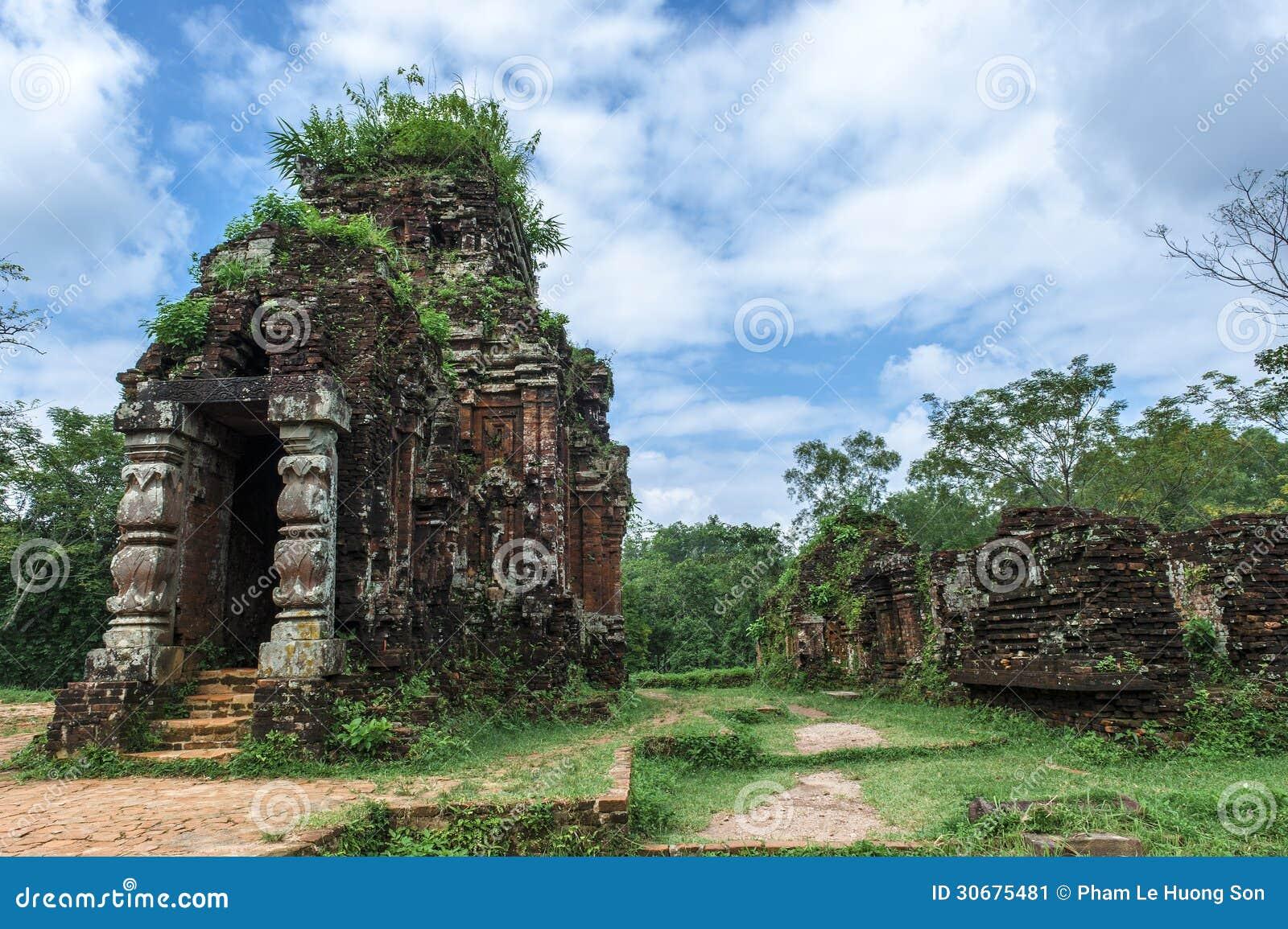 Tour de Cham à mon fils, Quang Nam, Vietnam