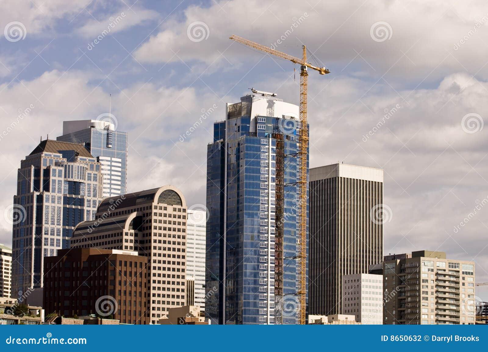 Tour de construction à Seattle