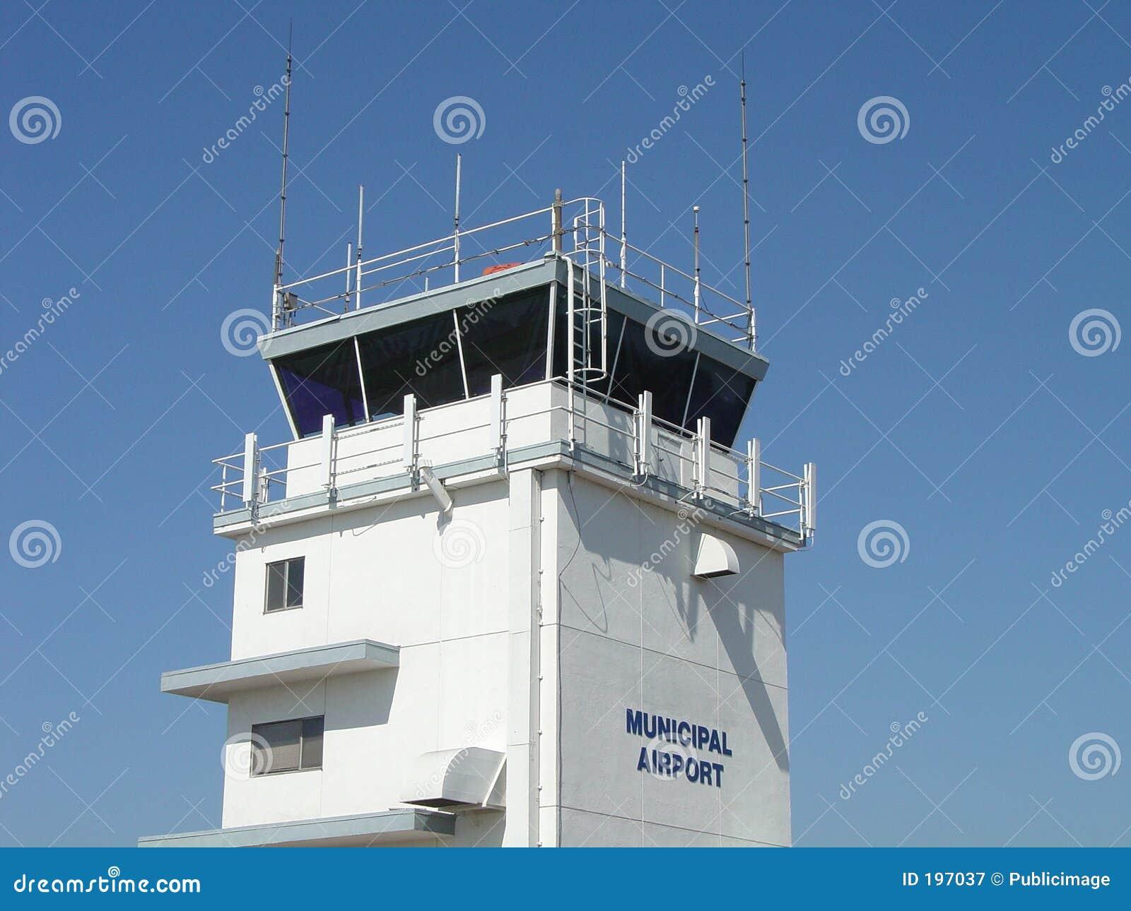 Tour de contrôle d aéroport