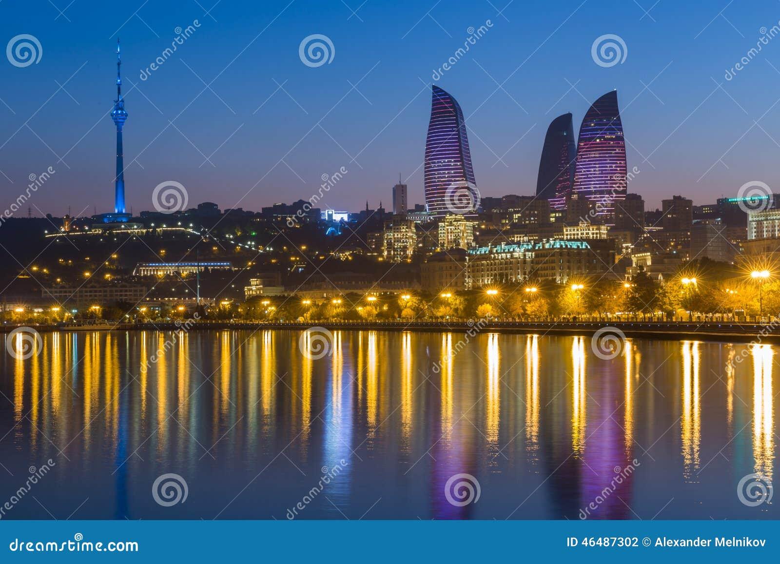Tour de flamme à Bakou