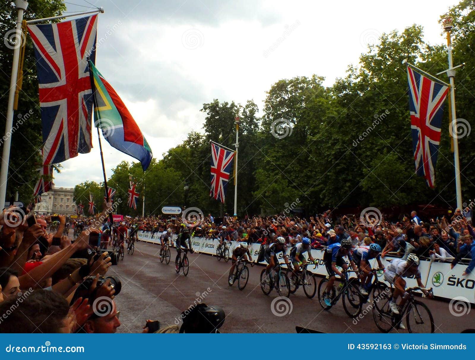 Tour de France - il centro commerciale, Londra