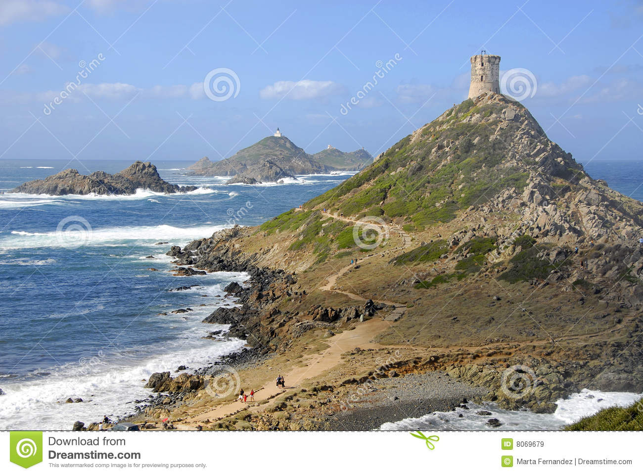 Ajaccio France  City pictures : Tour De La Parata, Ajaccio, Corsica, France Royalty Free Stock Images ...