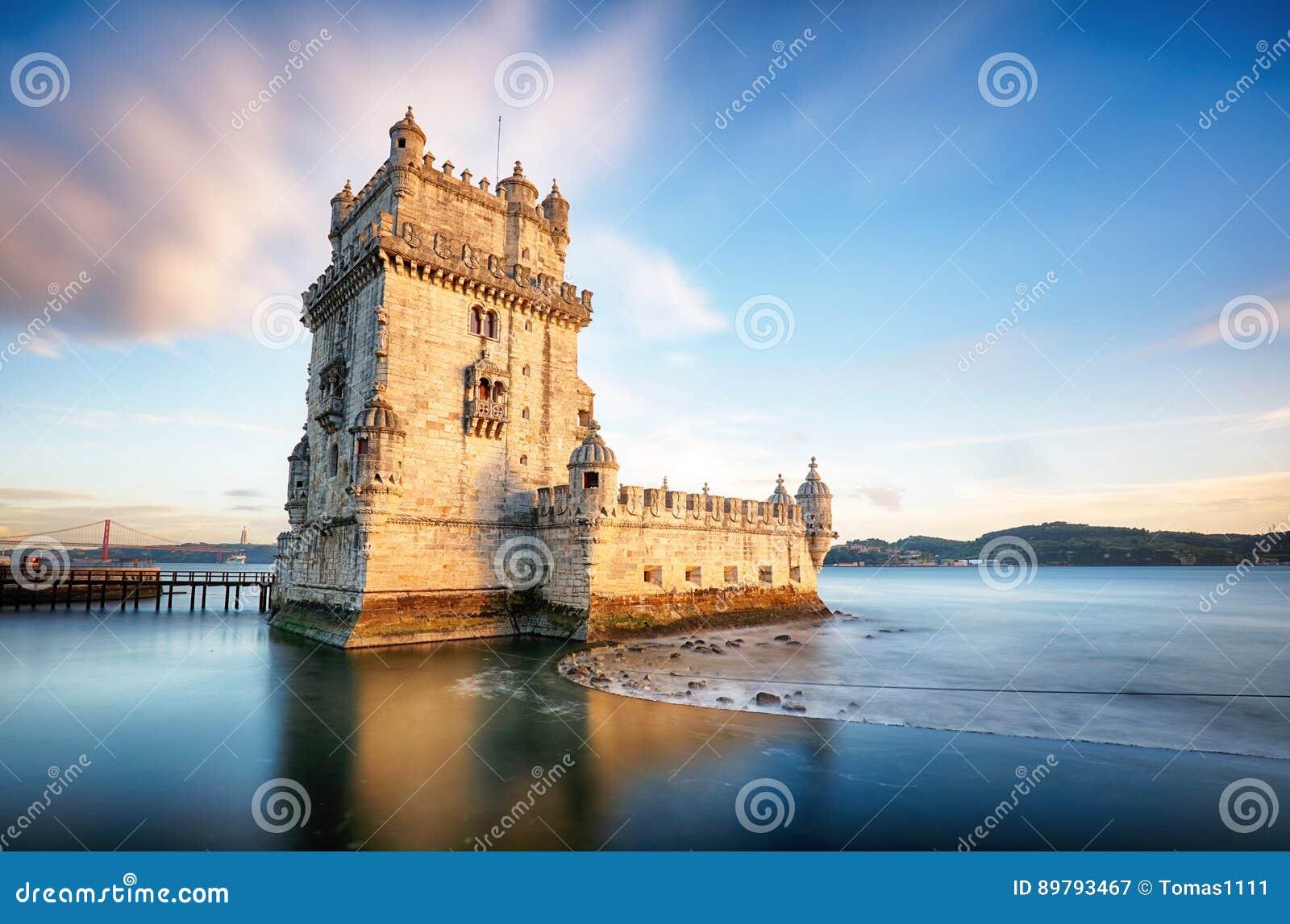 Tour de Lisbonne, Belem - le Tage, Portugal