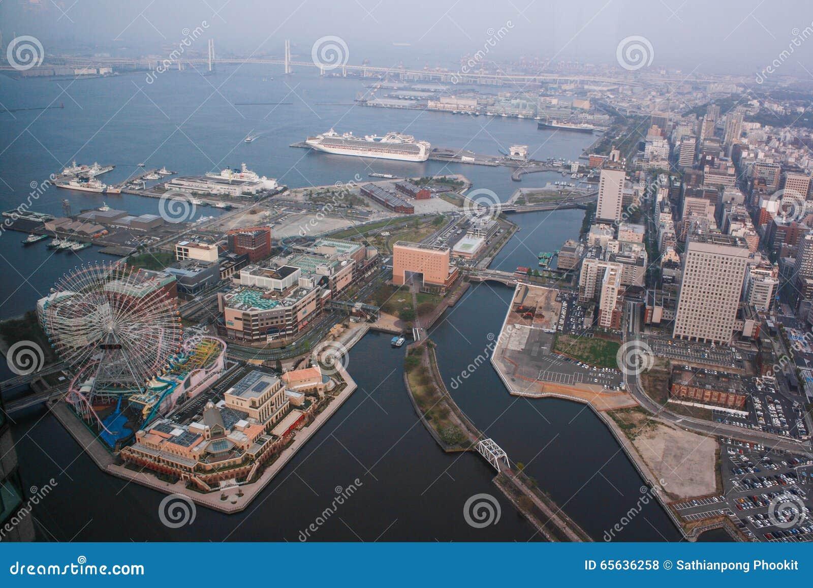 Tour de point de repère, Yokohama Japon, Minato Mirai