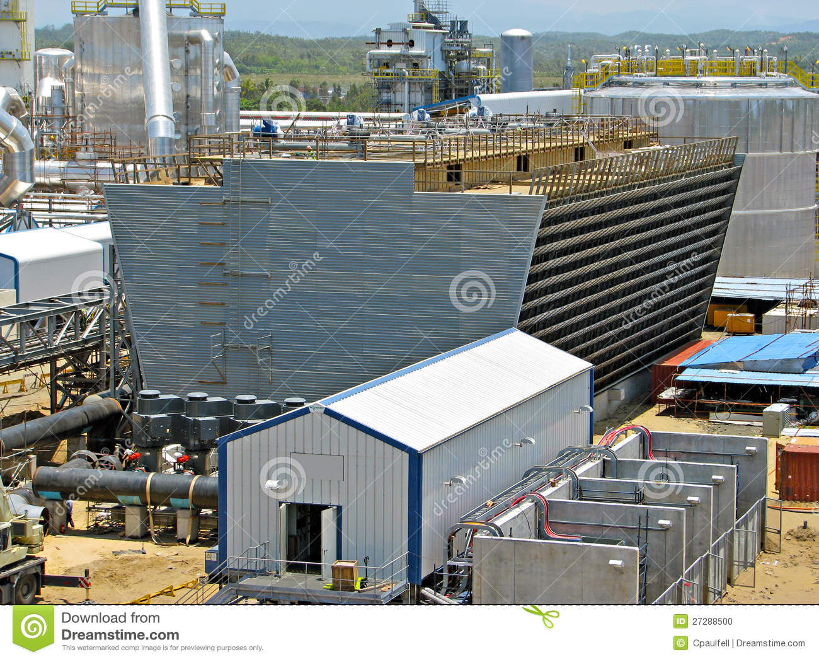 Tour de refroidissement industrielle