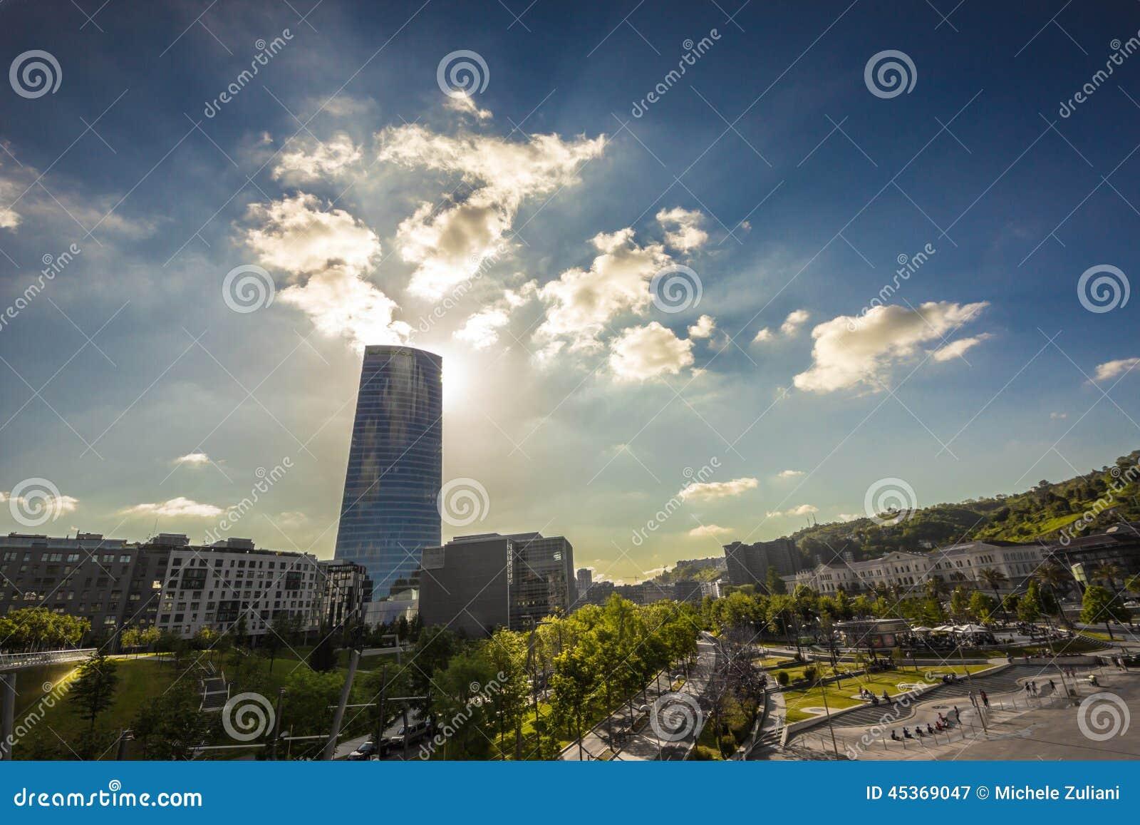 Tour de verre à Bilbao