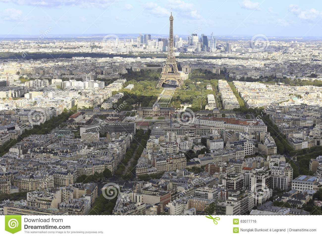 Download Tour Eiffel photo stock. Image du europe, centre, touristes - 63077716