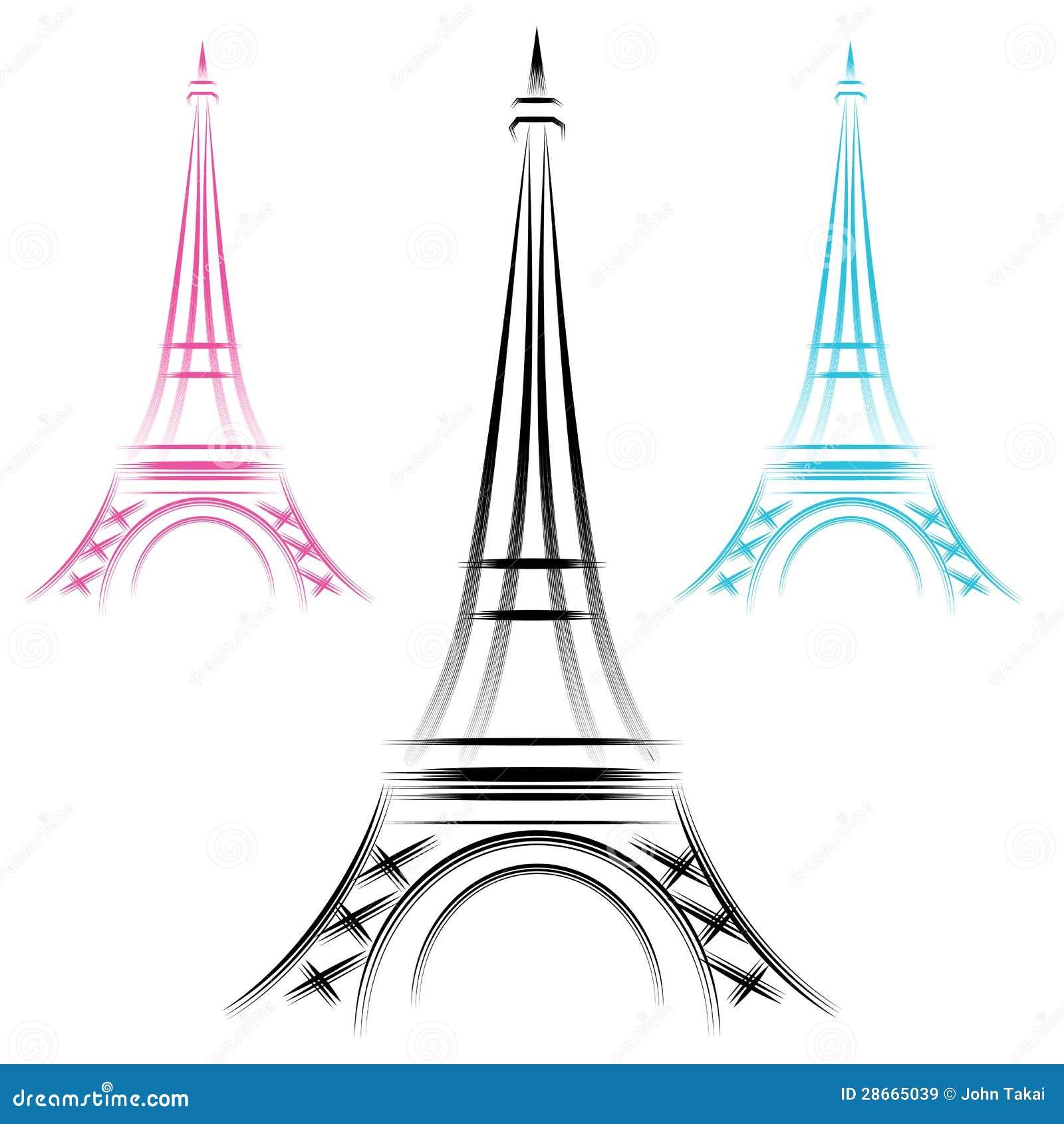 Tour eiffel abstrait images libres de droits image 28665039 for Paris libre