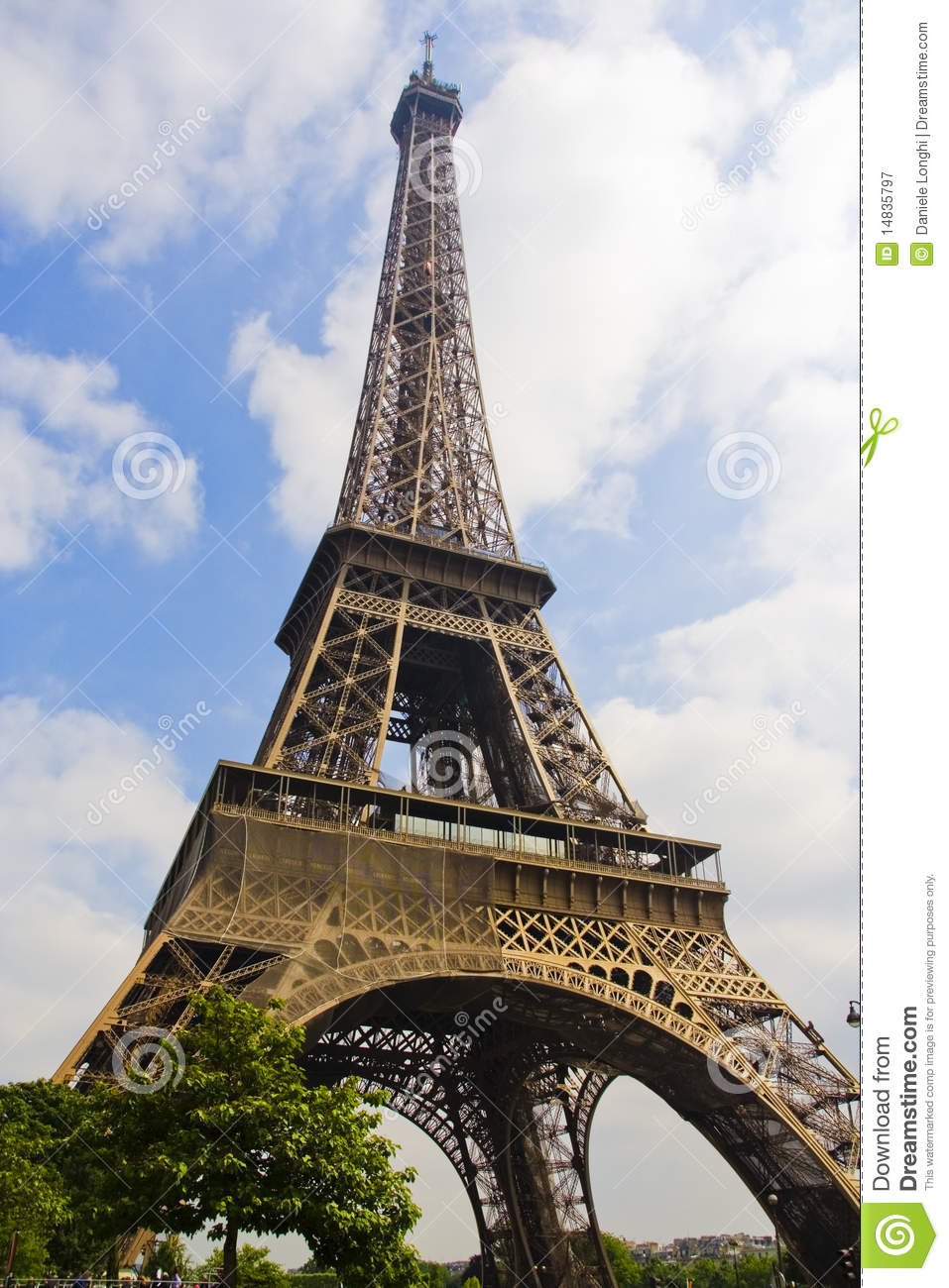 tour eiffel paris stock image image of icon famous 14835797. Black Bedroom Furniture Sets. Home Design Ideas