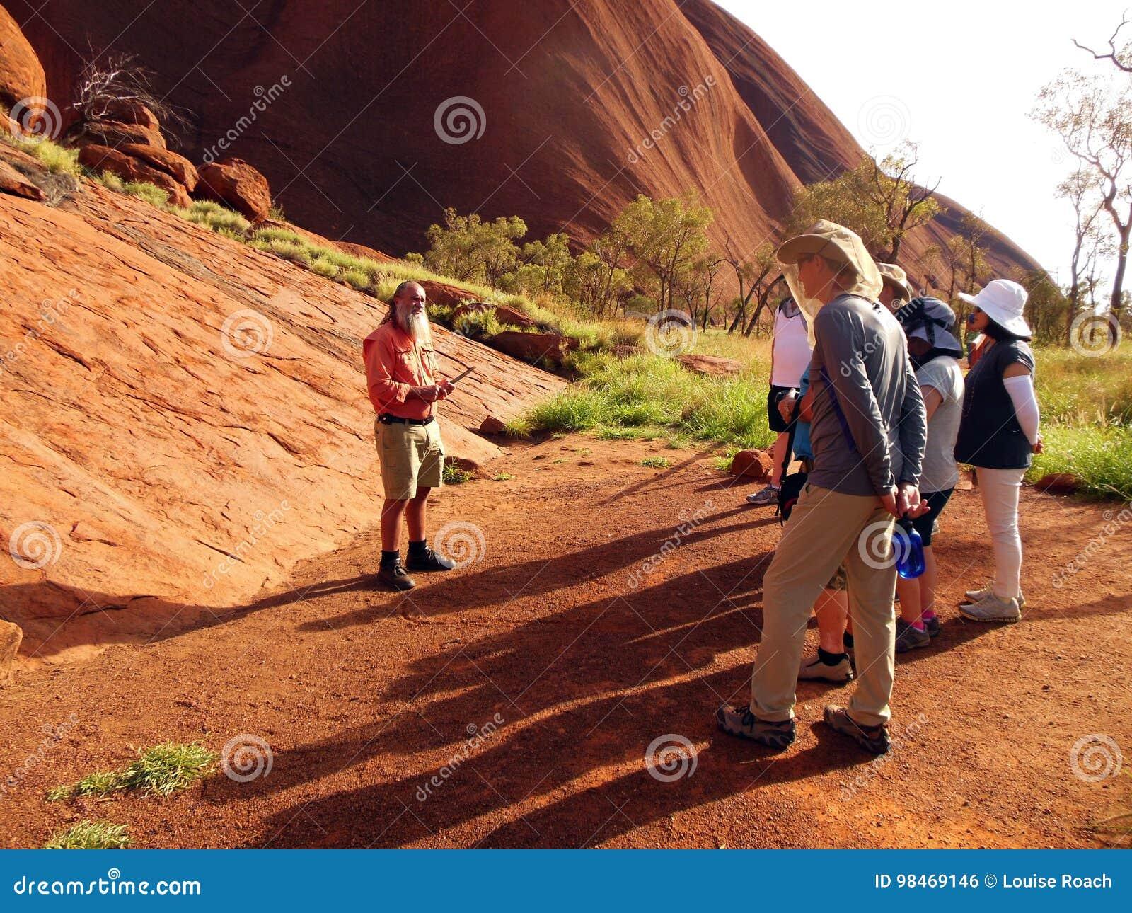Tour Guide Uluru, Australia