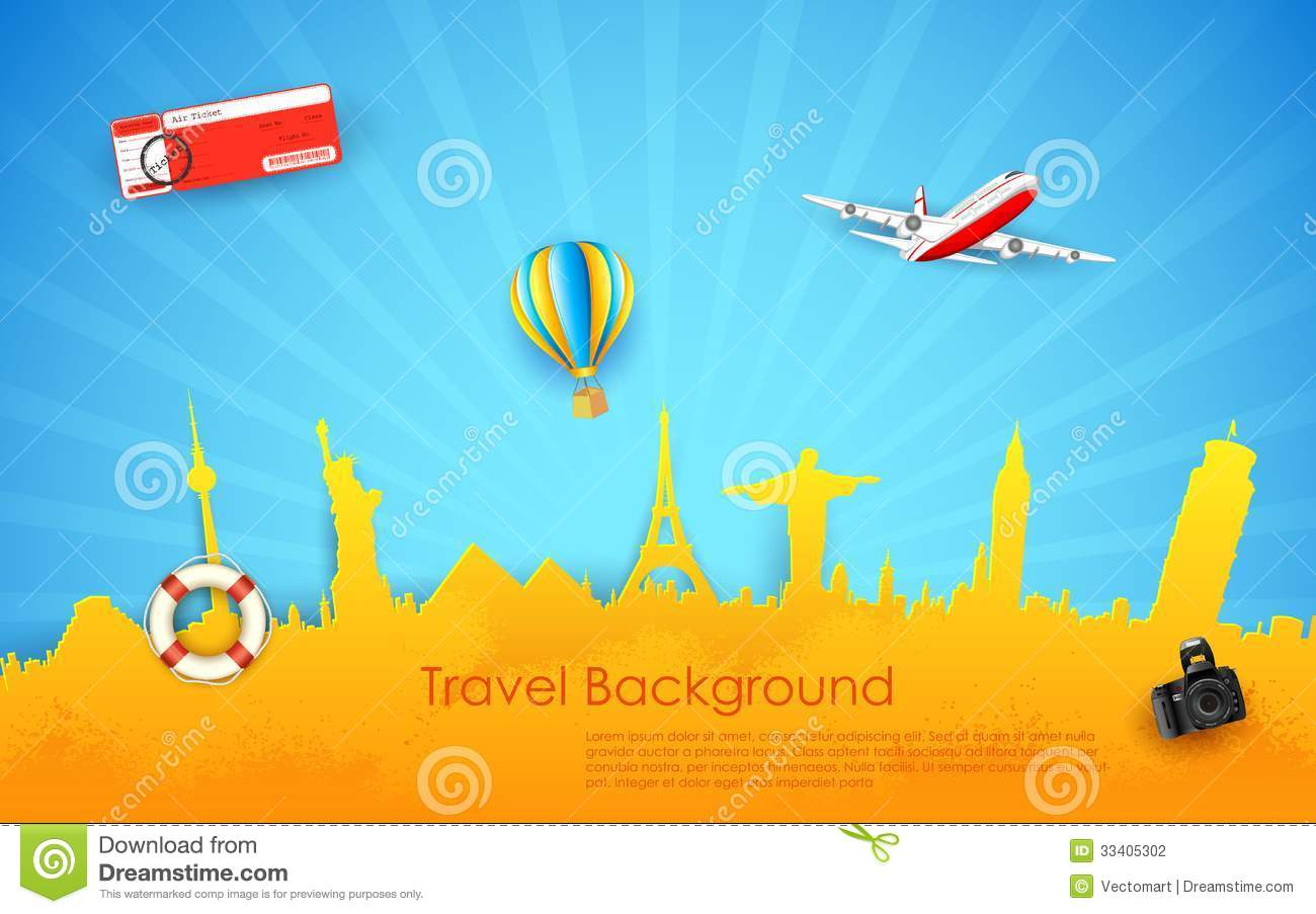 Tour And Travel Stock Vector Illustration Of Camera