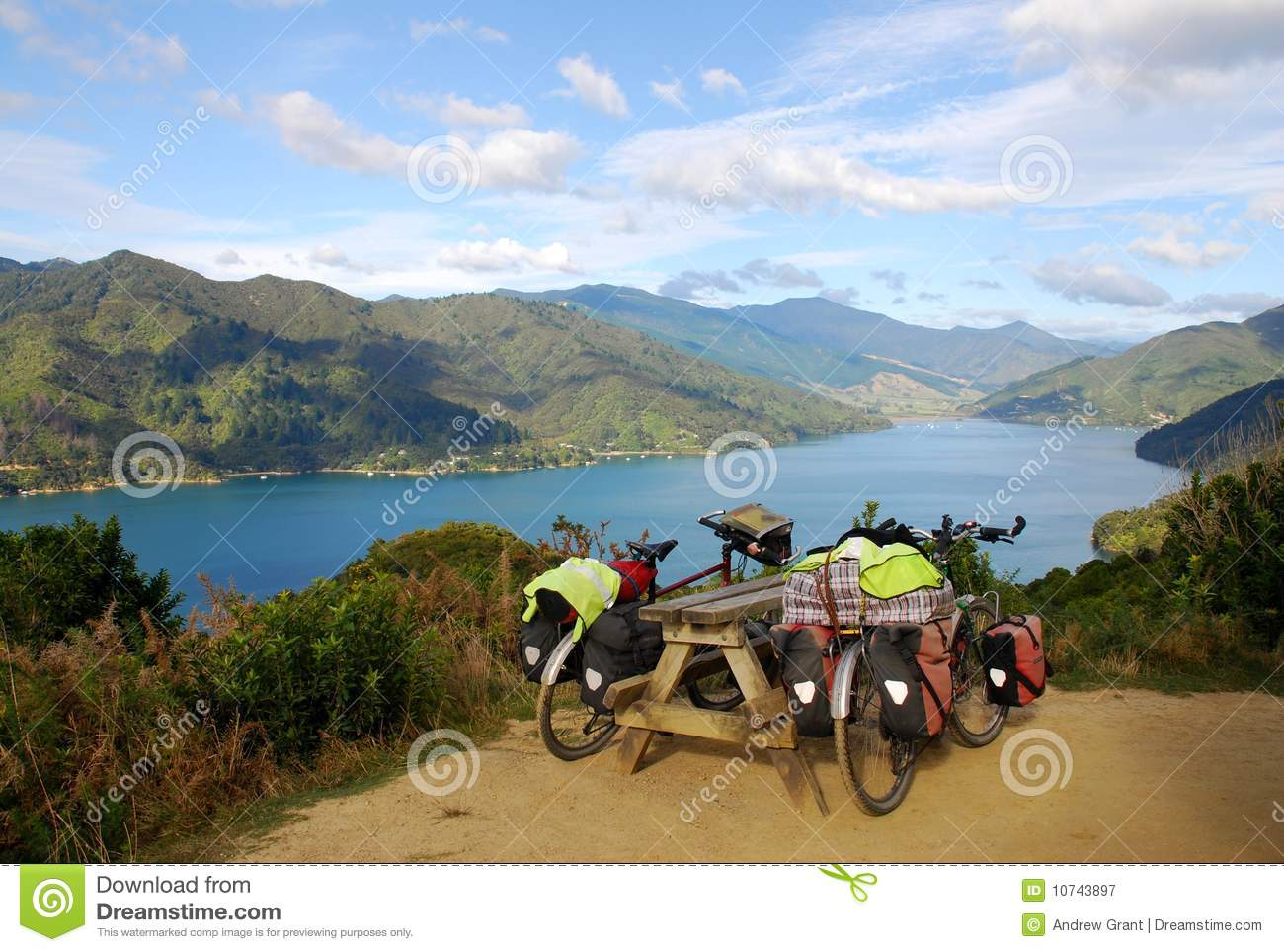 Touring Bicycles in New Zealand