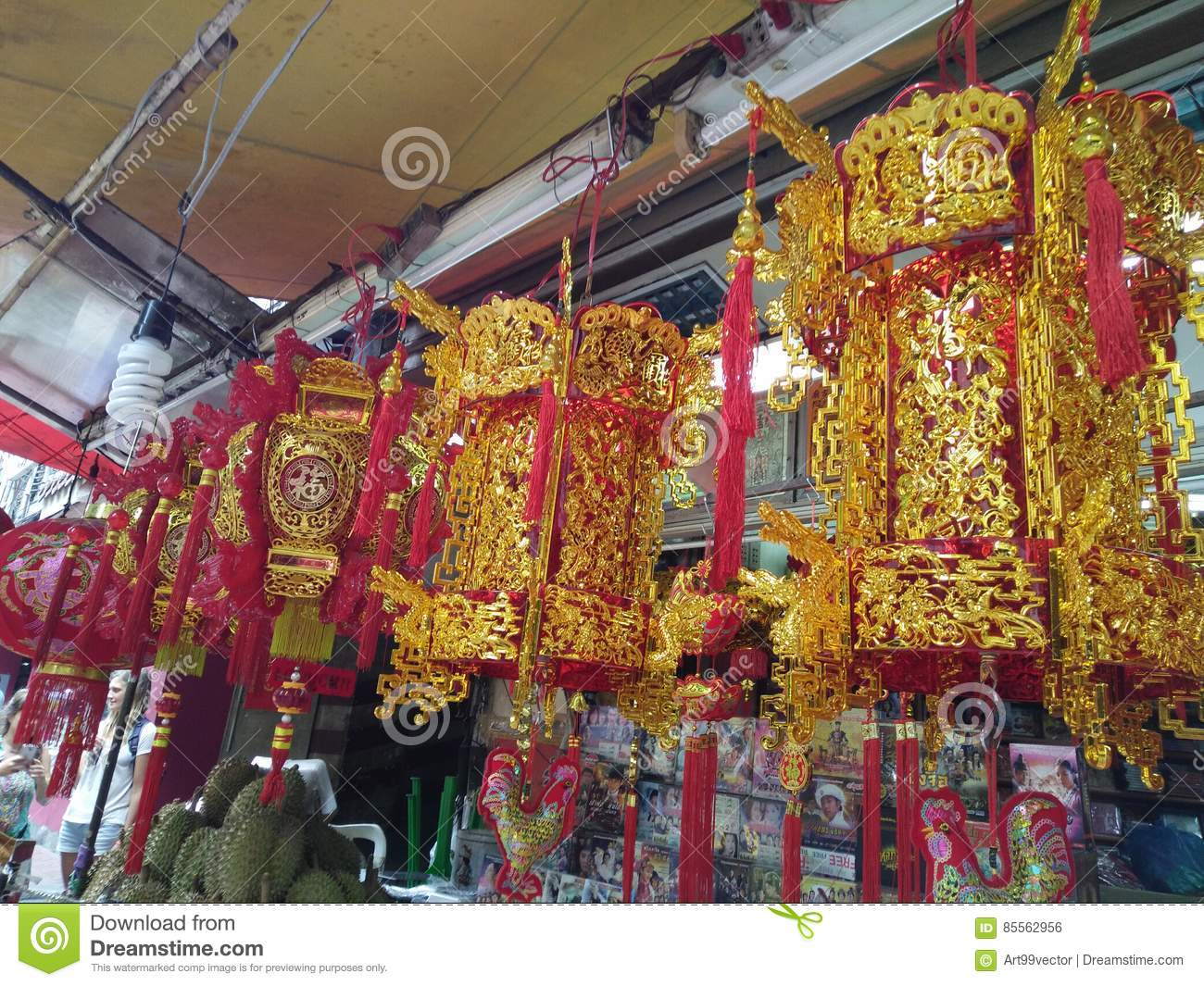 Tourism Chinatown In Thailand Editorial Photo - Image of town