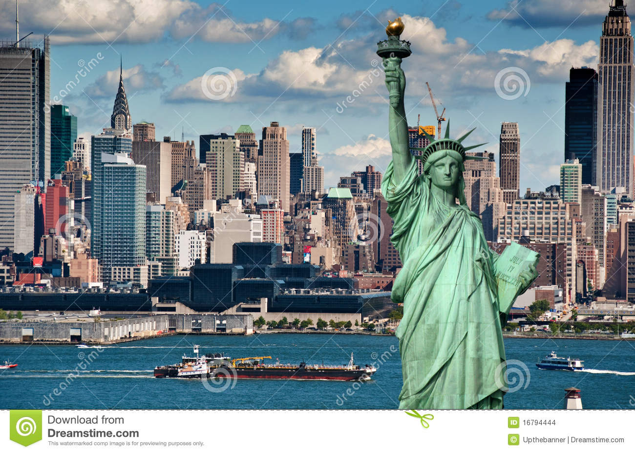 Tourism concept new york city skyline stock photo image 16794444 - Tourist office new york city ...